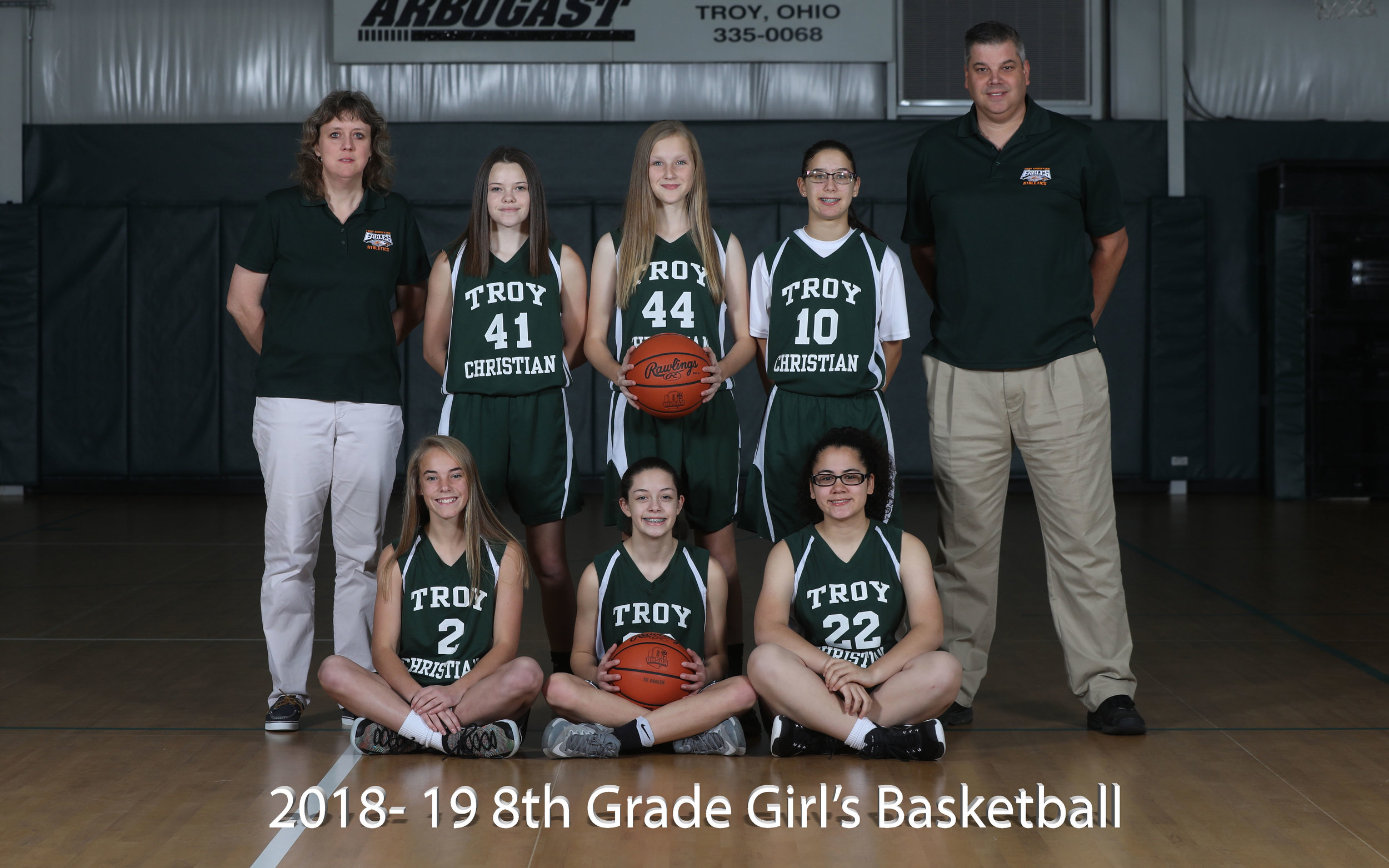 2017-18 8th Grade Girl's Basketball