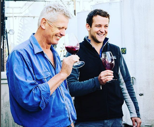 Father & Son work together to produce wines of Oustanding quality