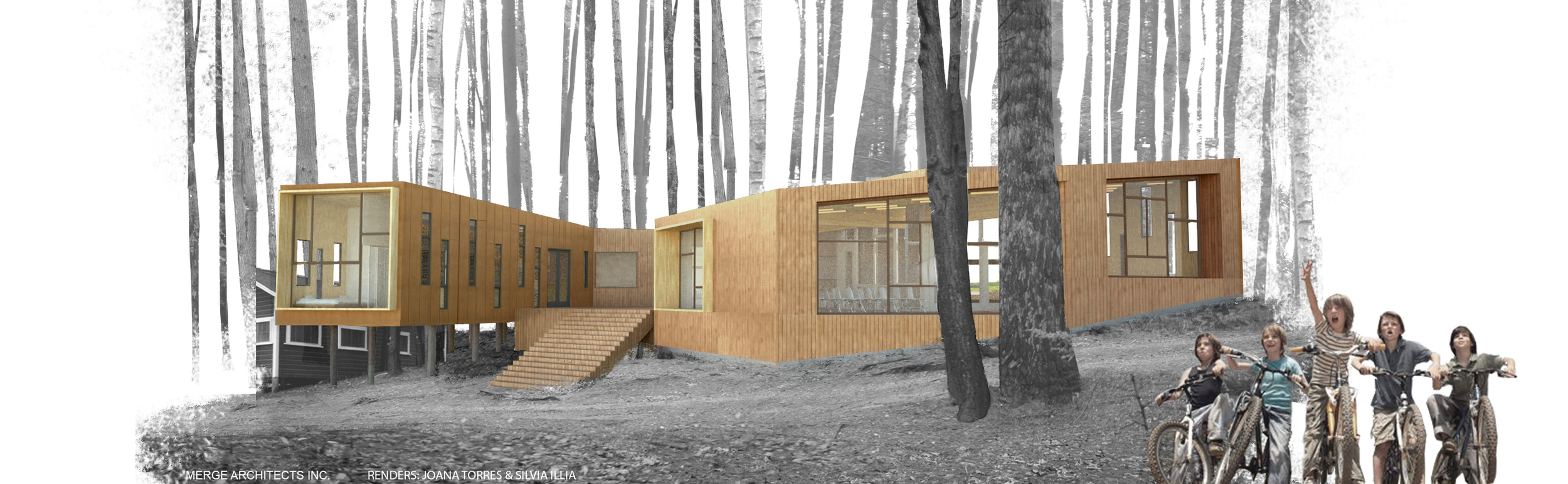 RENDERINGS FOR MERGE ARCHITECTS