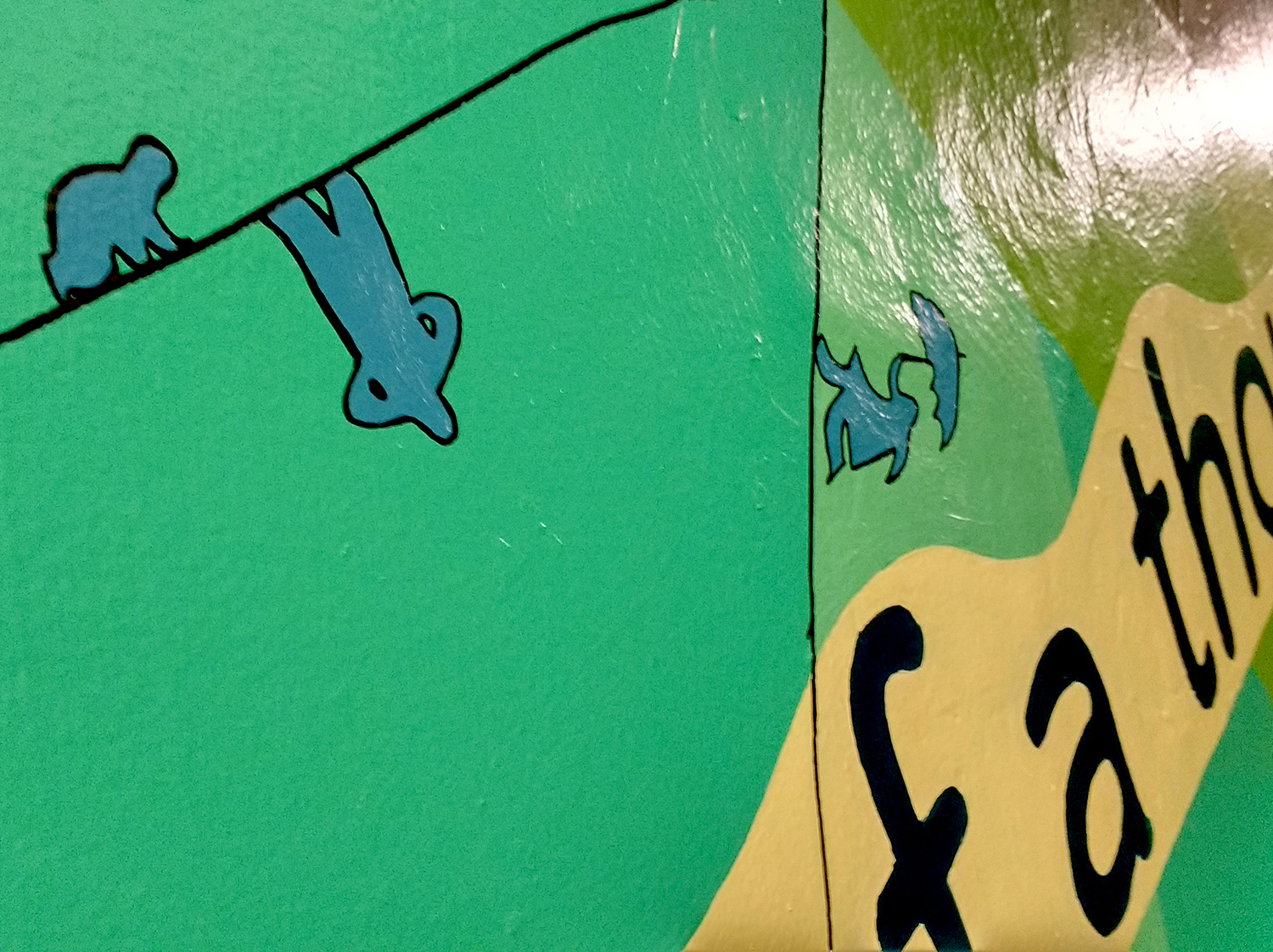 4 MURALS FOR BROOKLYN TRANSITION CENTER