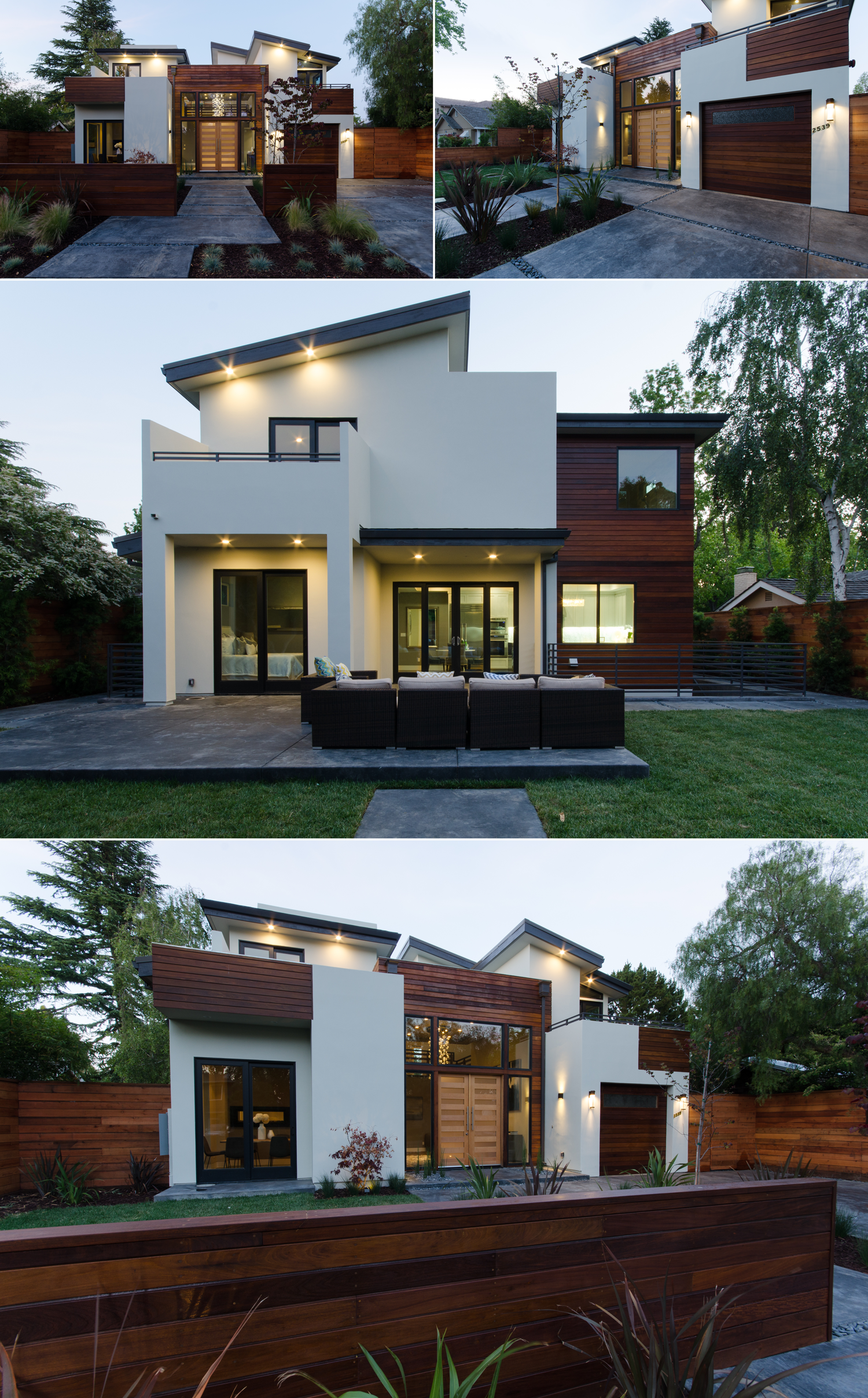 Modern home in Palo Alto
