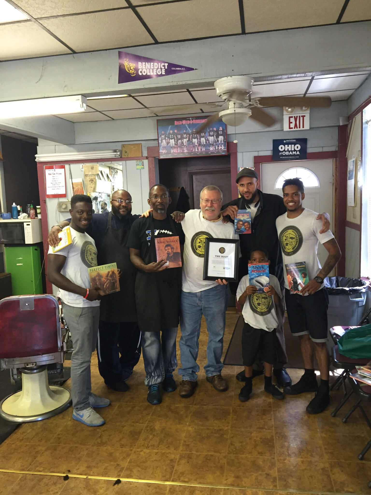 #16    Sid's Barber Shop     43 W. 2nd St, Xenia, OH 45385    July 2016