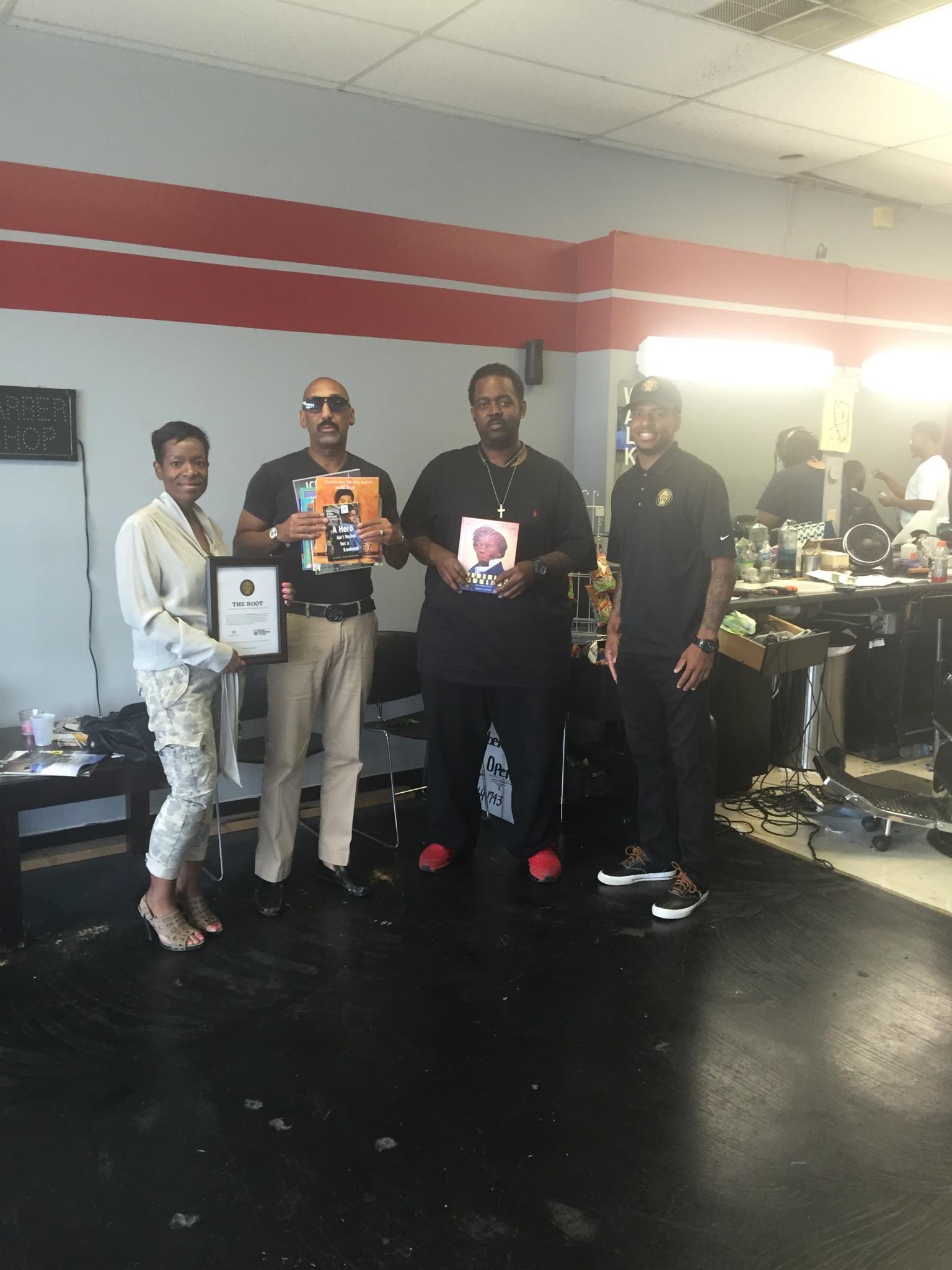 #18    Final Touch Barber Shop    4560 Salem Avenue, Trotwood, OH 45416    September 2016
