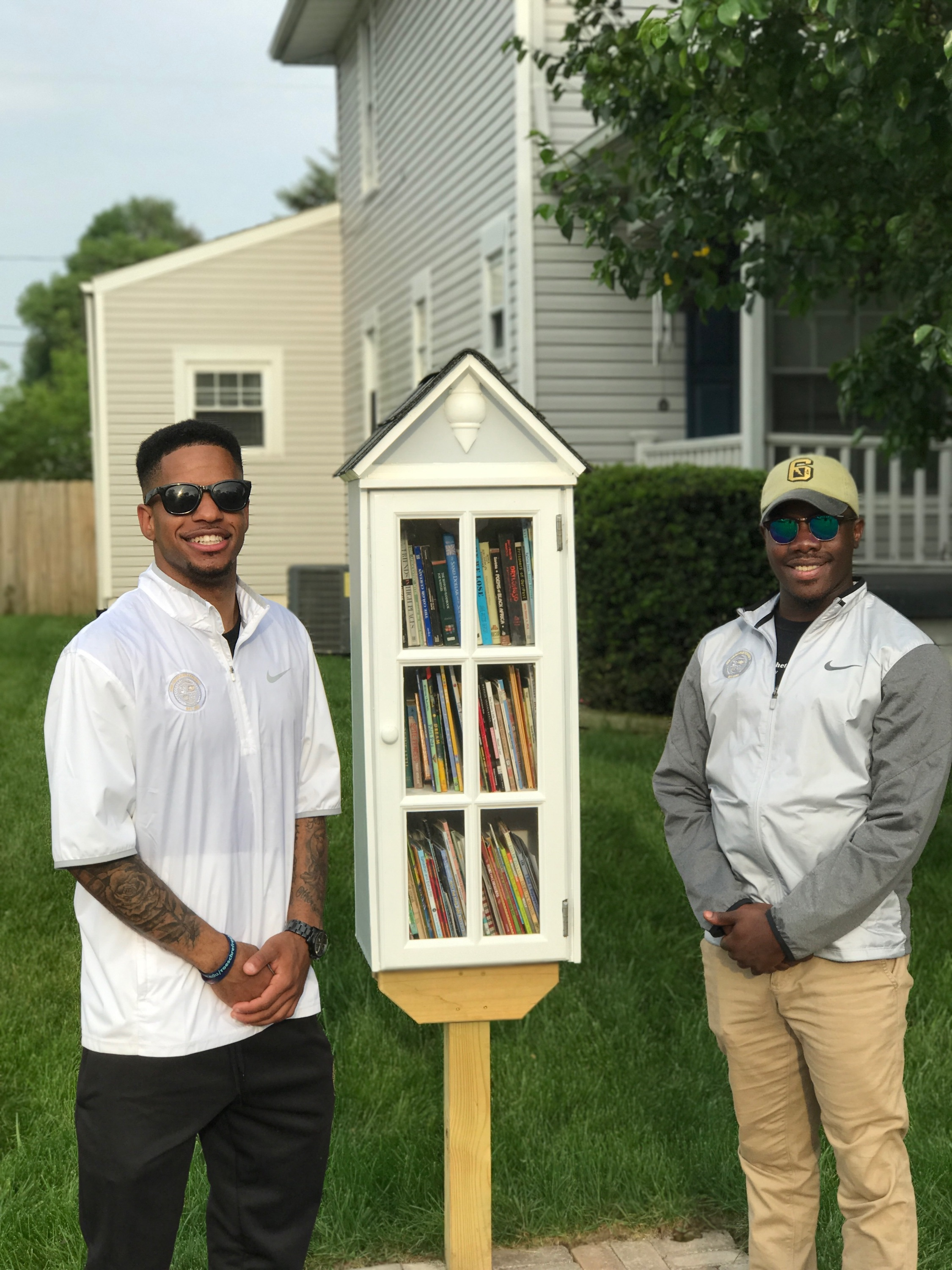 Our very first House of Knowledge is located in the Singer Neighborhood in Southern Springfield,   at the residence of Co-Founder Karlos L. Marshall.