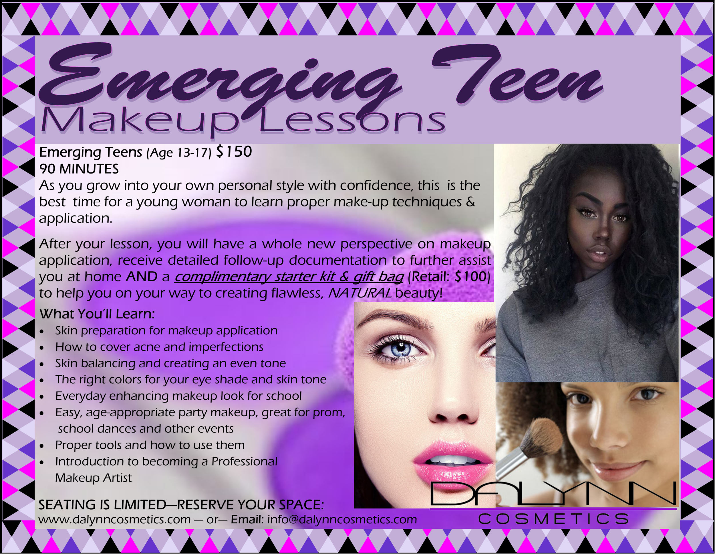 EMERGING TEEN Makeup Lesson