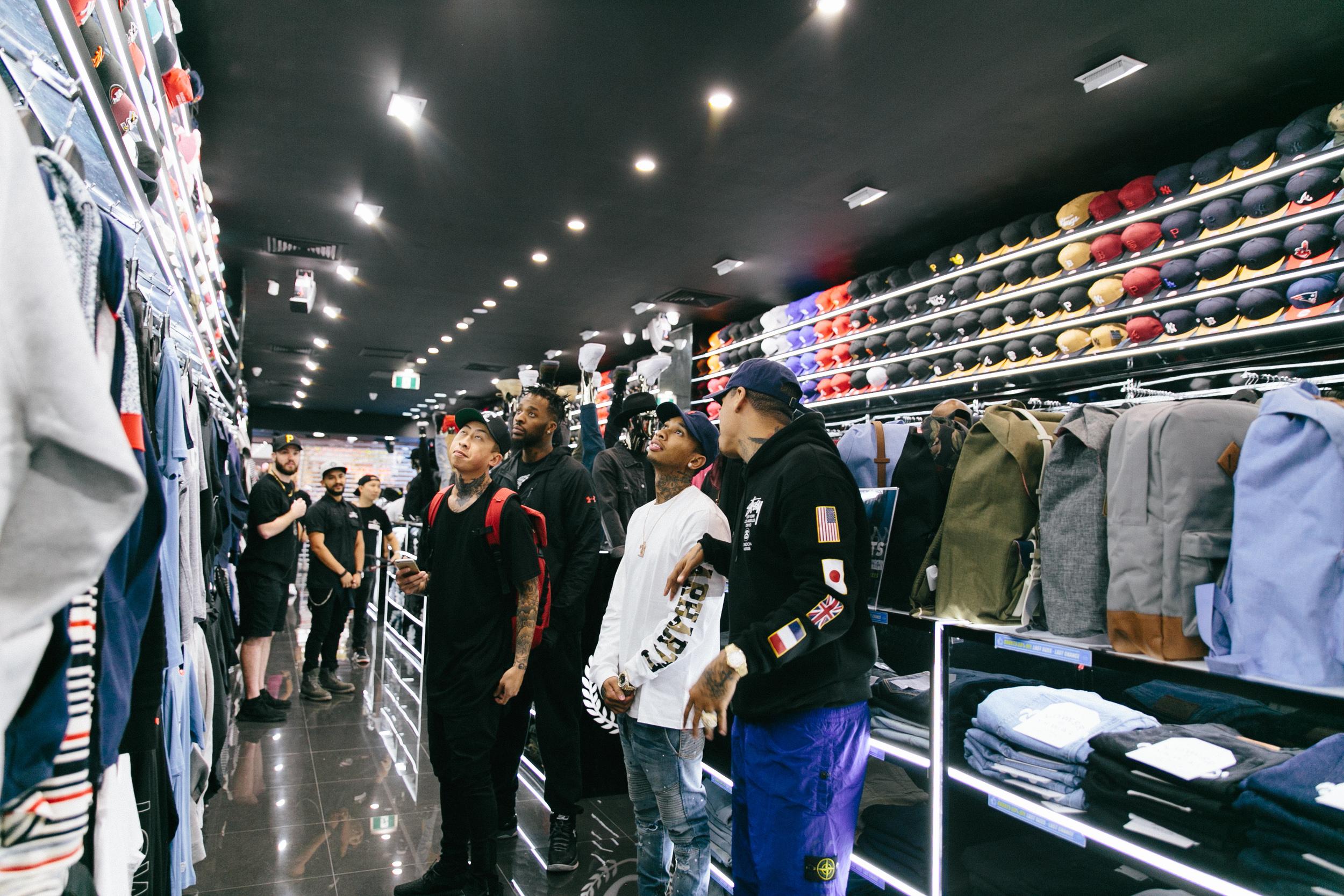 Tyga Meet 'n' Greet at Culture Kings Perth
