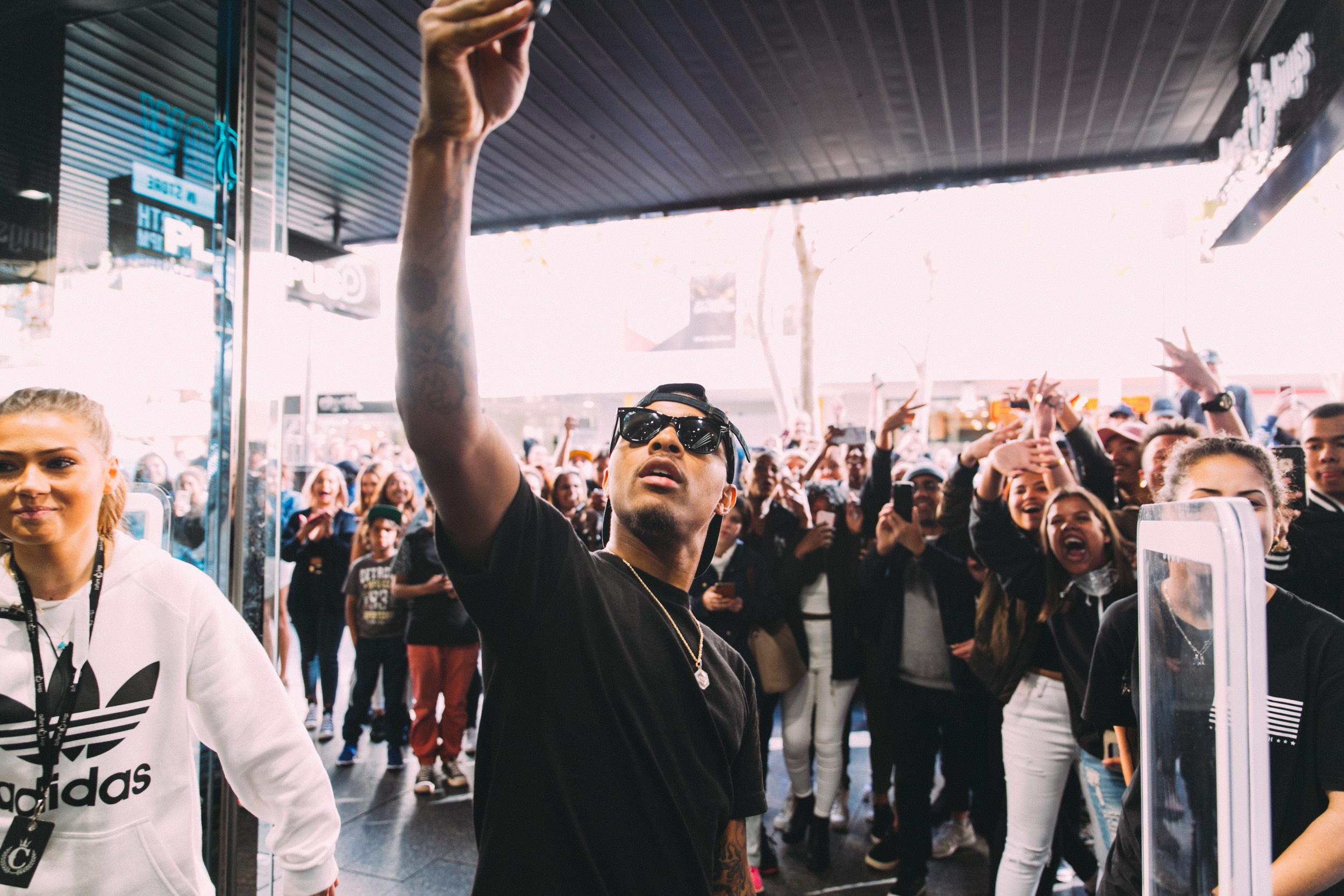 Bow Wow Meet 'N' Greet at Culture Kings Perth