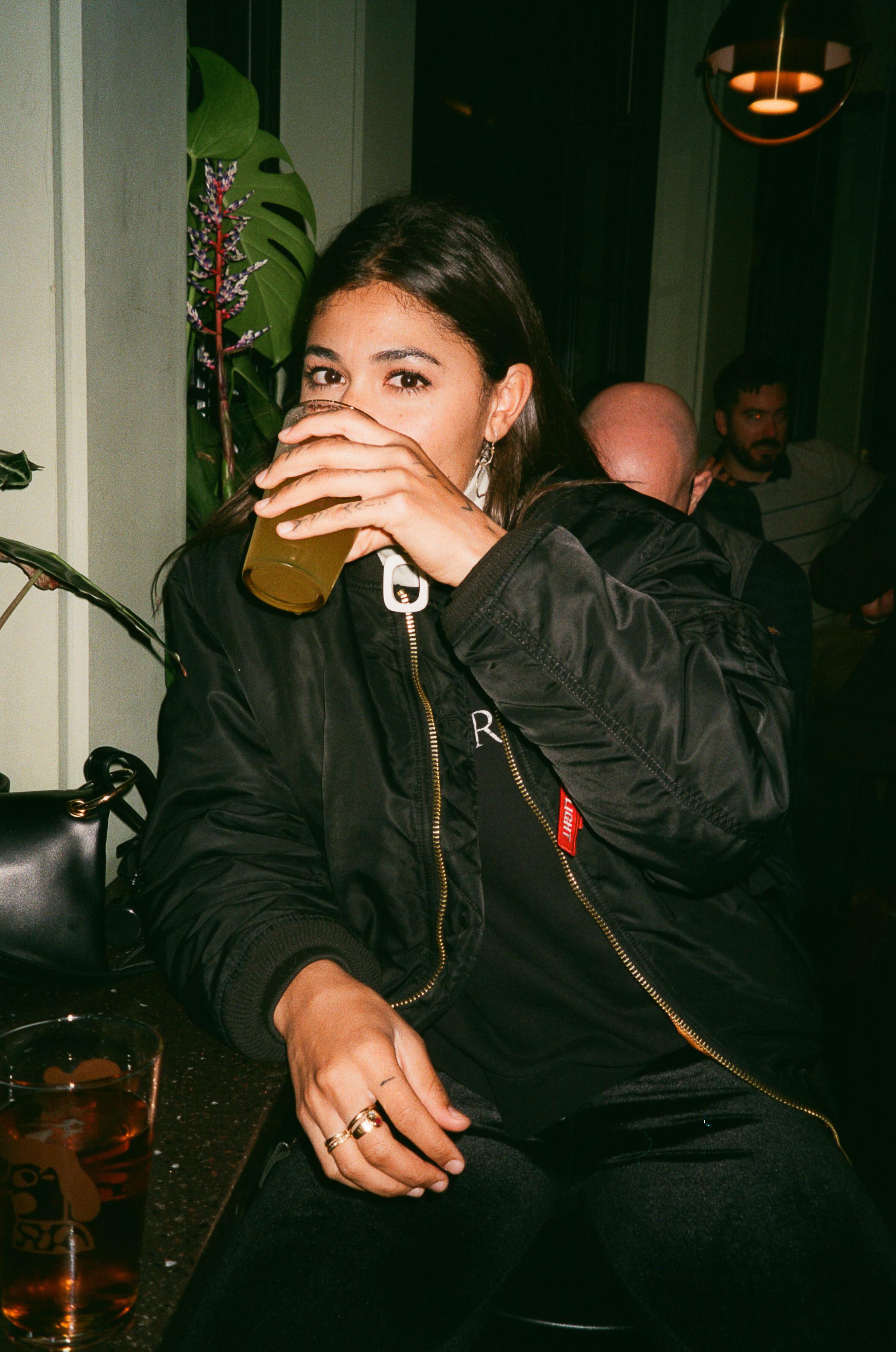 Mathilde at Mikkeller, London, 2019