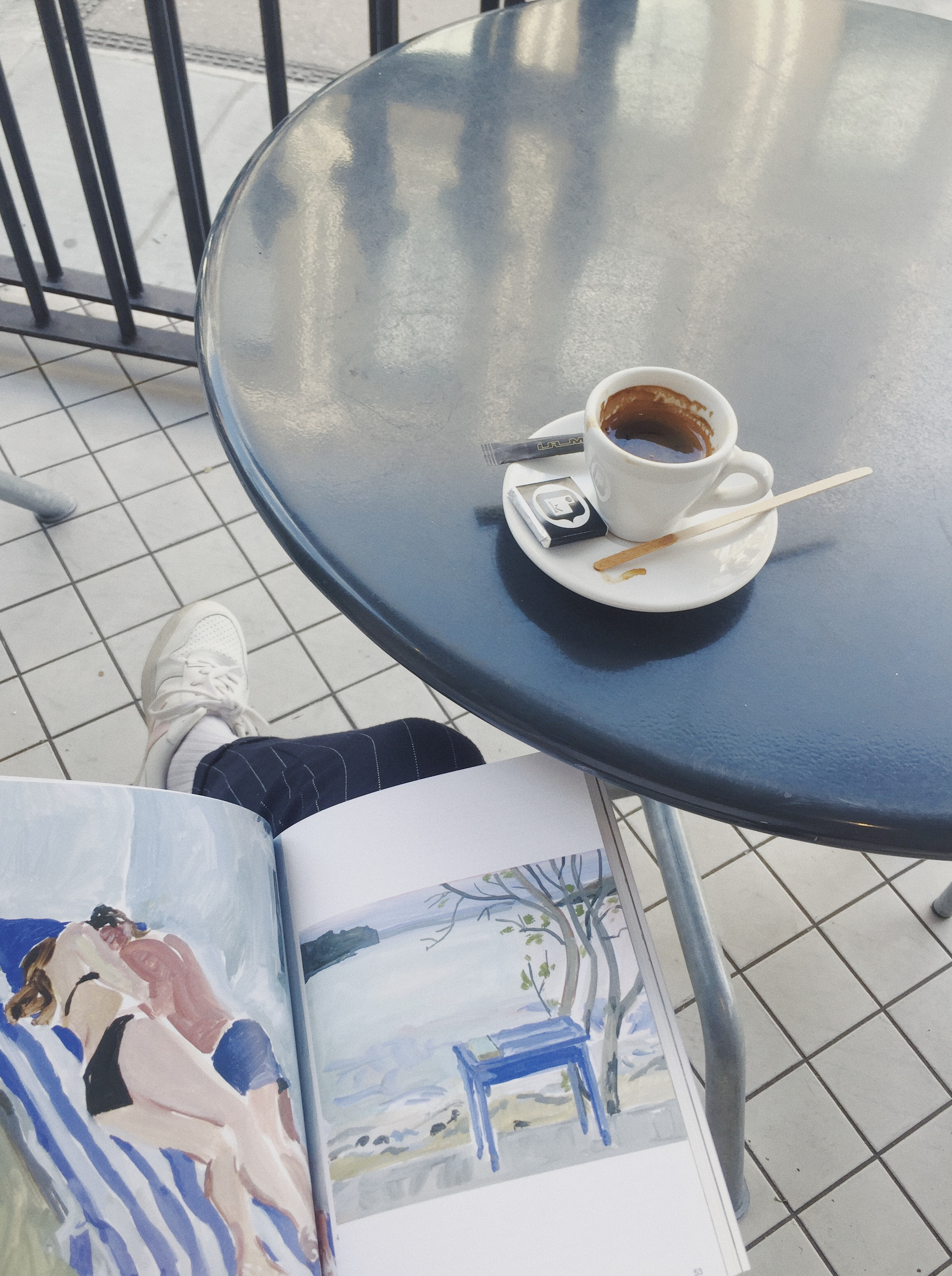 Reading KENNEDY at Kioskafe
