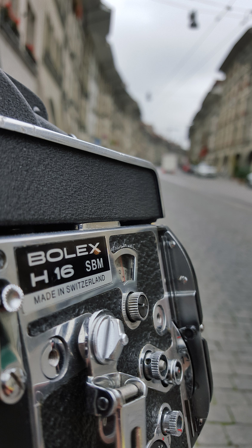 Bolex, you're home!