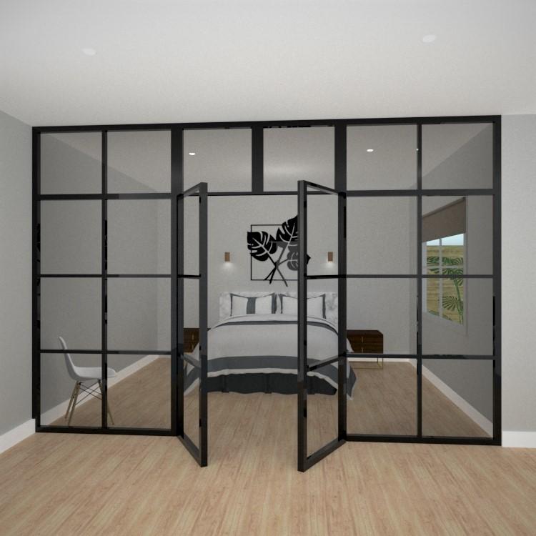 Bedroom steel doors and windows.jpg