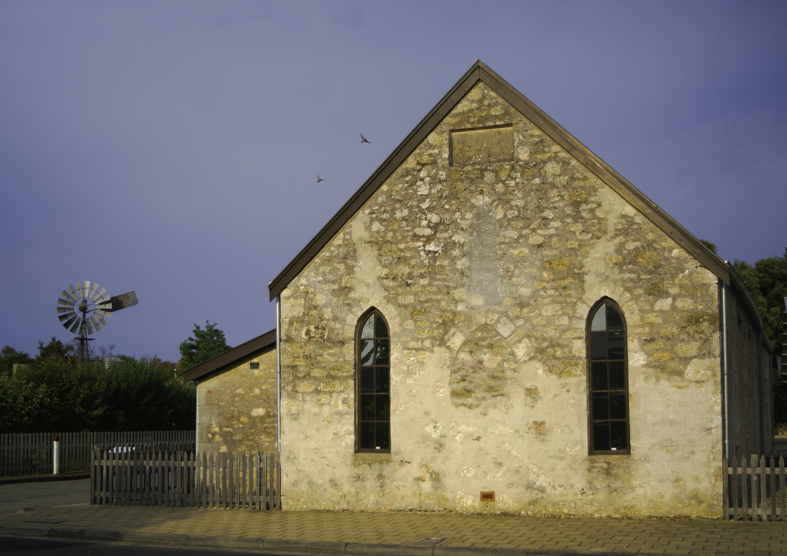 Woods-Mackillop Schoolhouse Penola Limestone Coast South Australia, the image I was thrilled to capture just at the right moment
