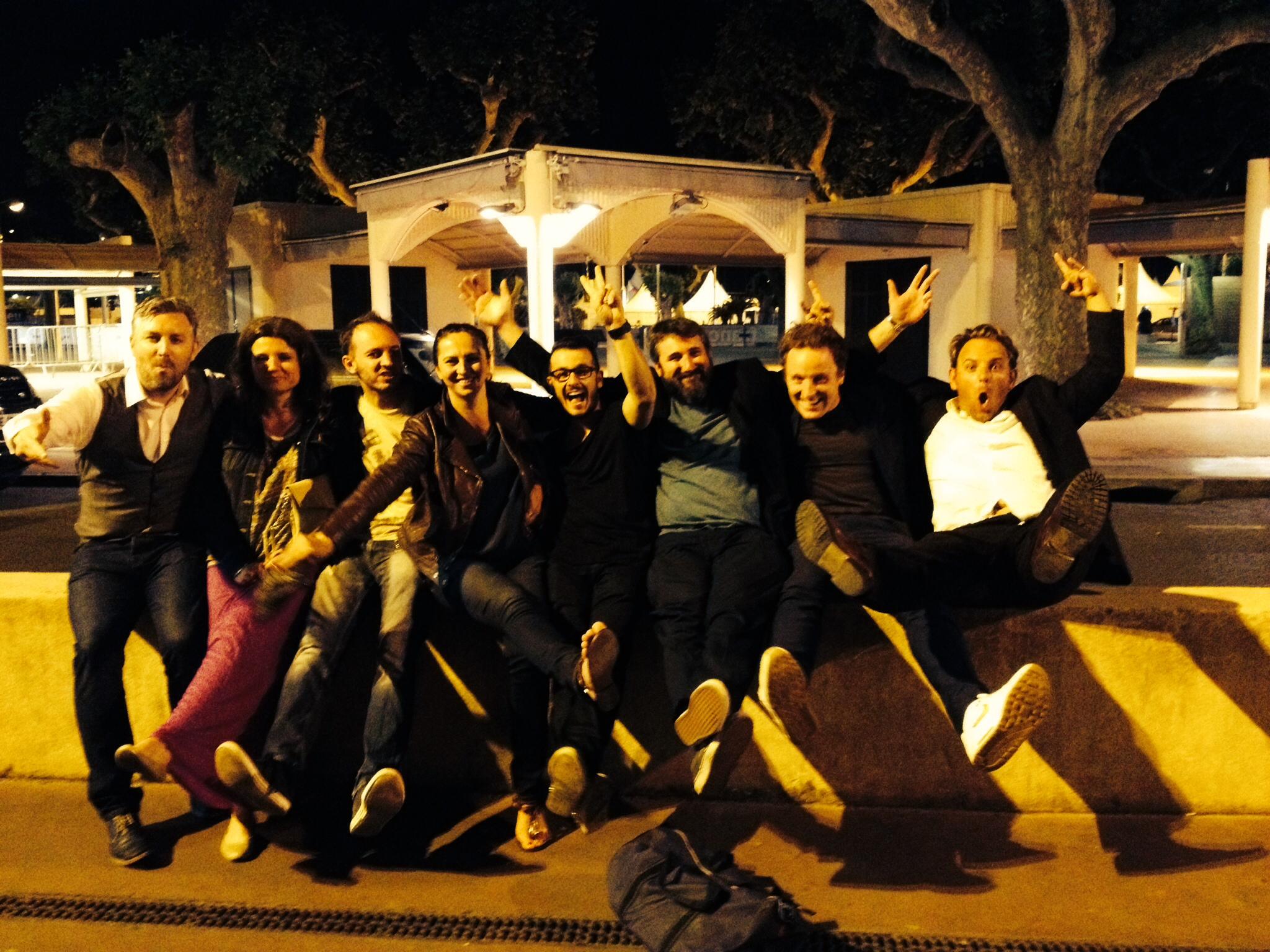 Cannes crew