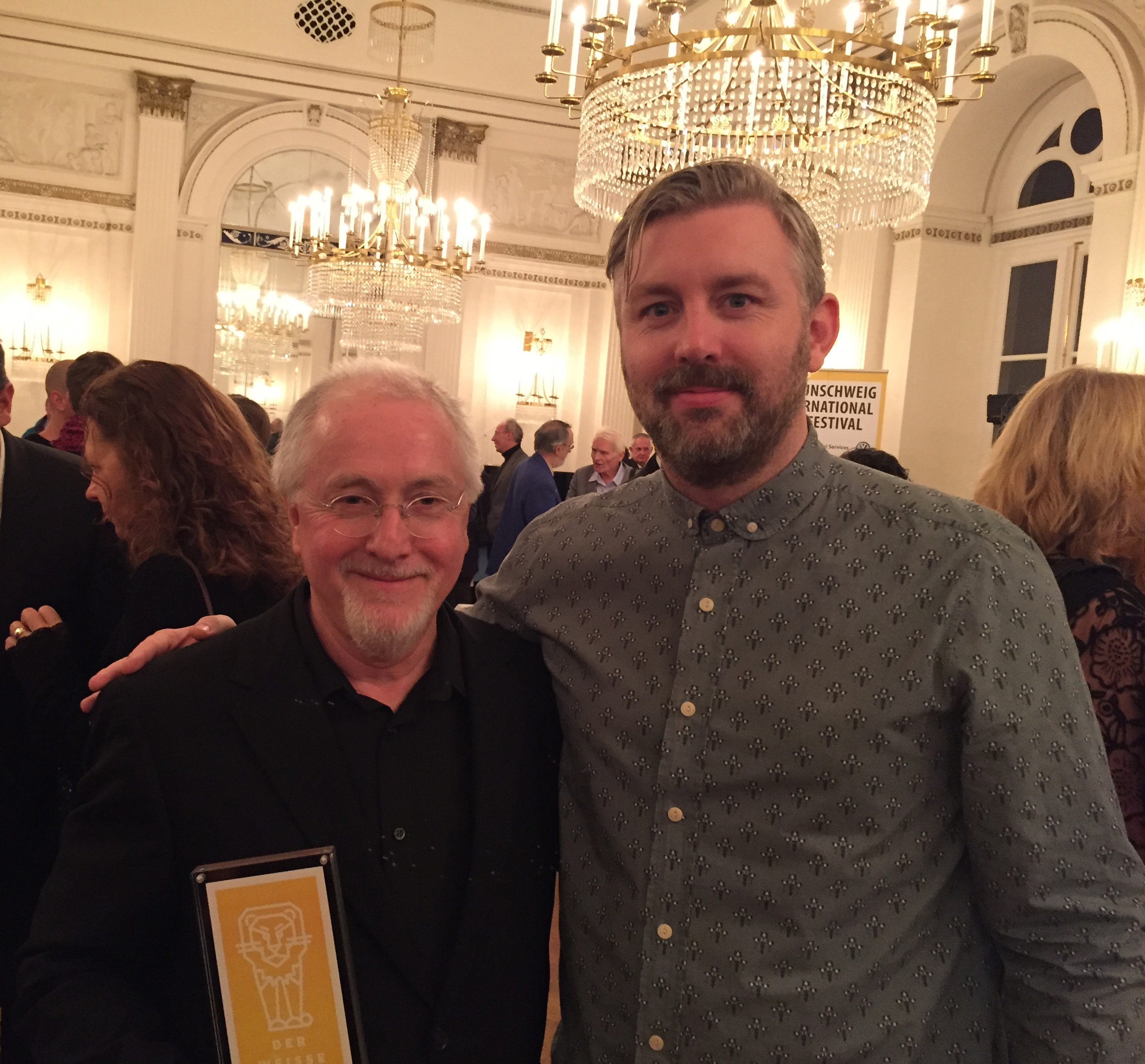 Composer Patrick Doyle and producer M J  McMahon