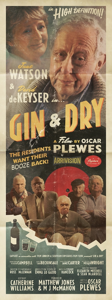 Gin & Dry Romance Poster