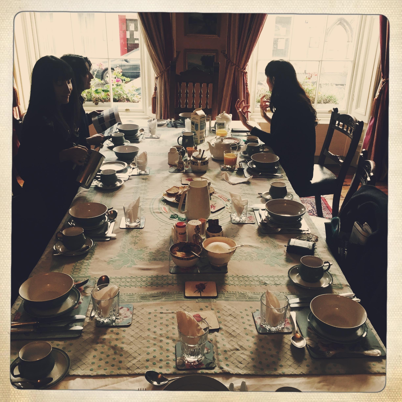 Breakfast at Filmmakers B&B