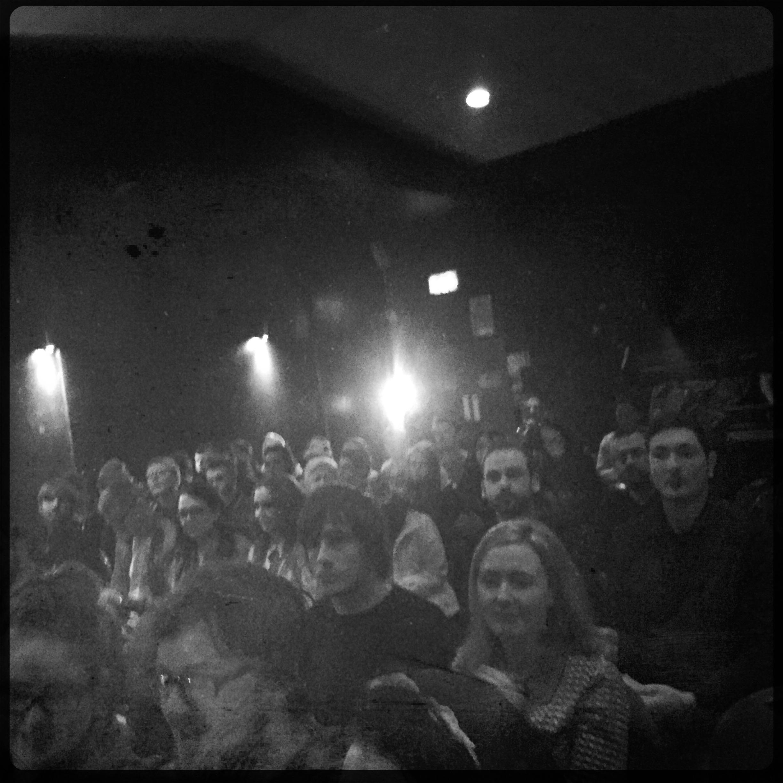 Crowd at Q&A