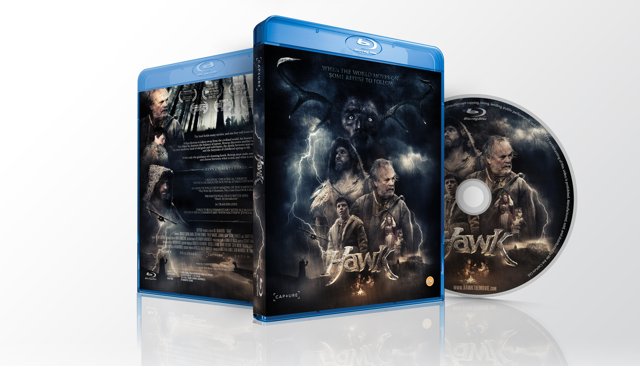 Hawk Blu-ray available through the  Capture Shop  and  Amazon