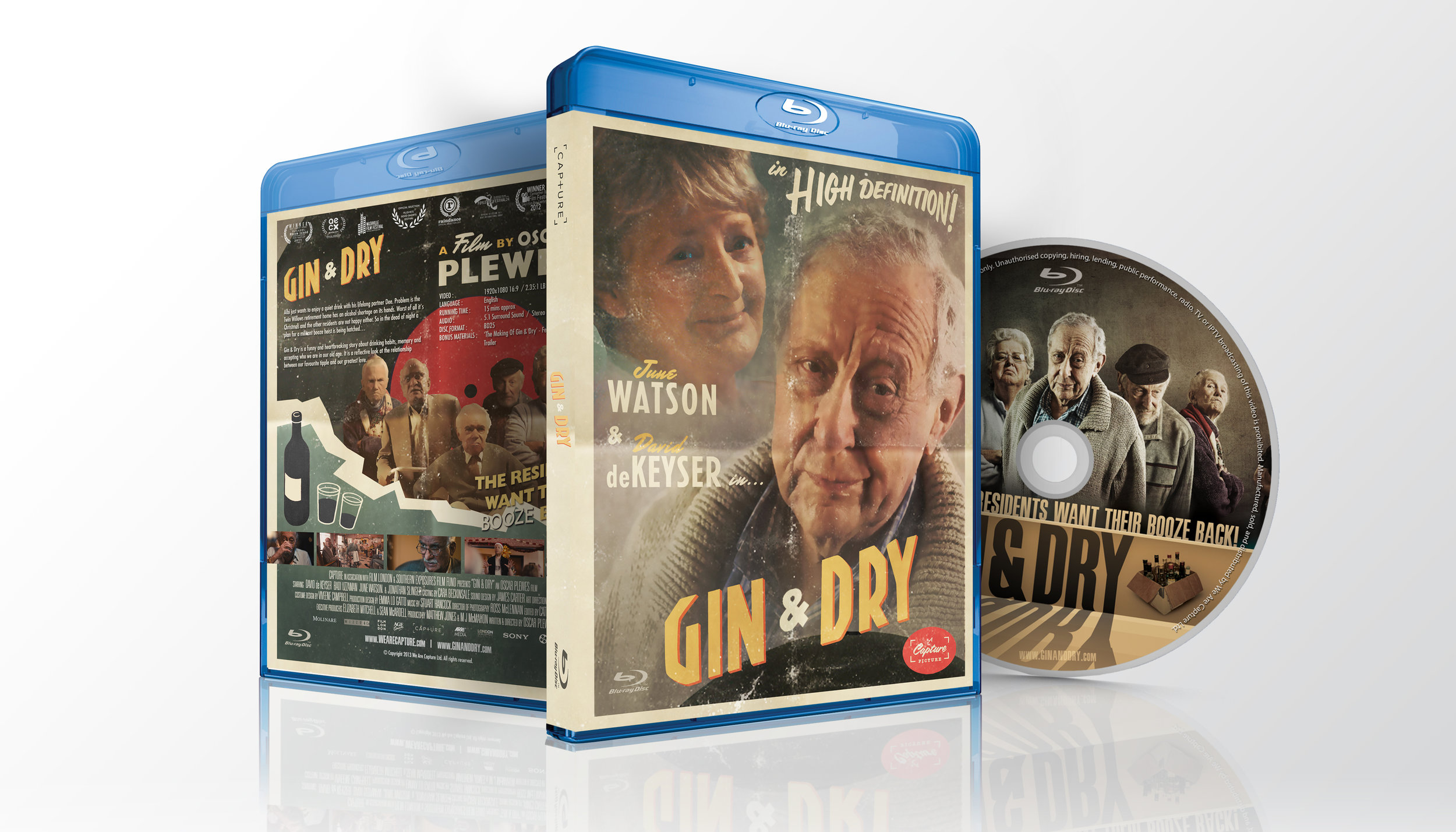 Gin & Dry is available on Blu-ray from the  Capture Shop  and  Amazon