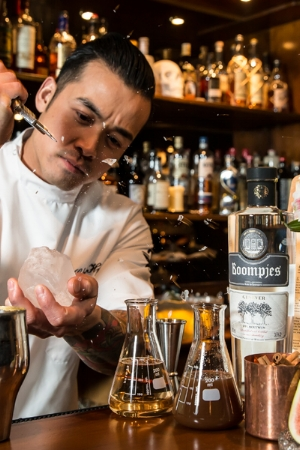"""""""Nowadays a lot of bars like to recreate classic drinks. Gin has always been trendy, but if you look historically, genever was the main ingredient used in all the old cocktail recipe books,"""" says Chi-Ho from the Dr."""