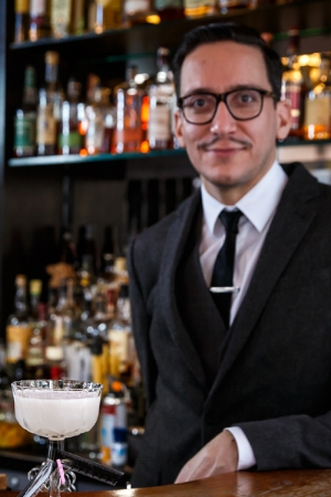 """""""Some of us modernize the classic cocktail to fit the modern palette. I am more of a classic guy and I like to research how to use genever in those classic recipes,"""" says Guillermo, founder of HPS."""