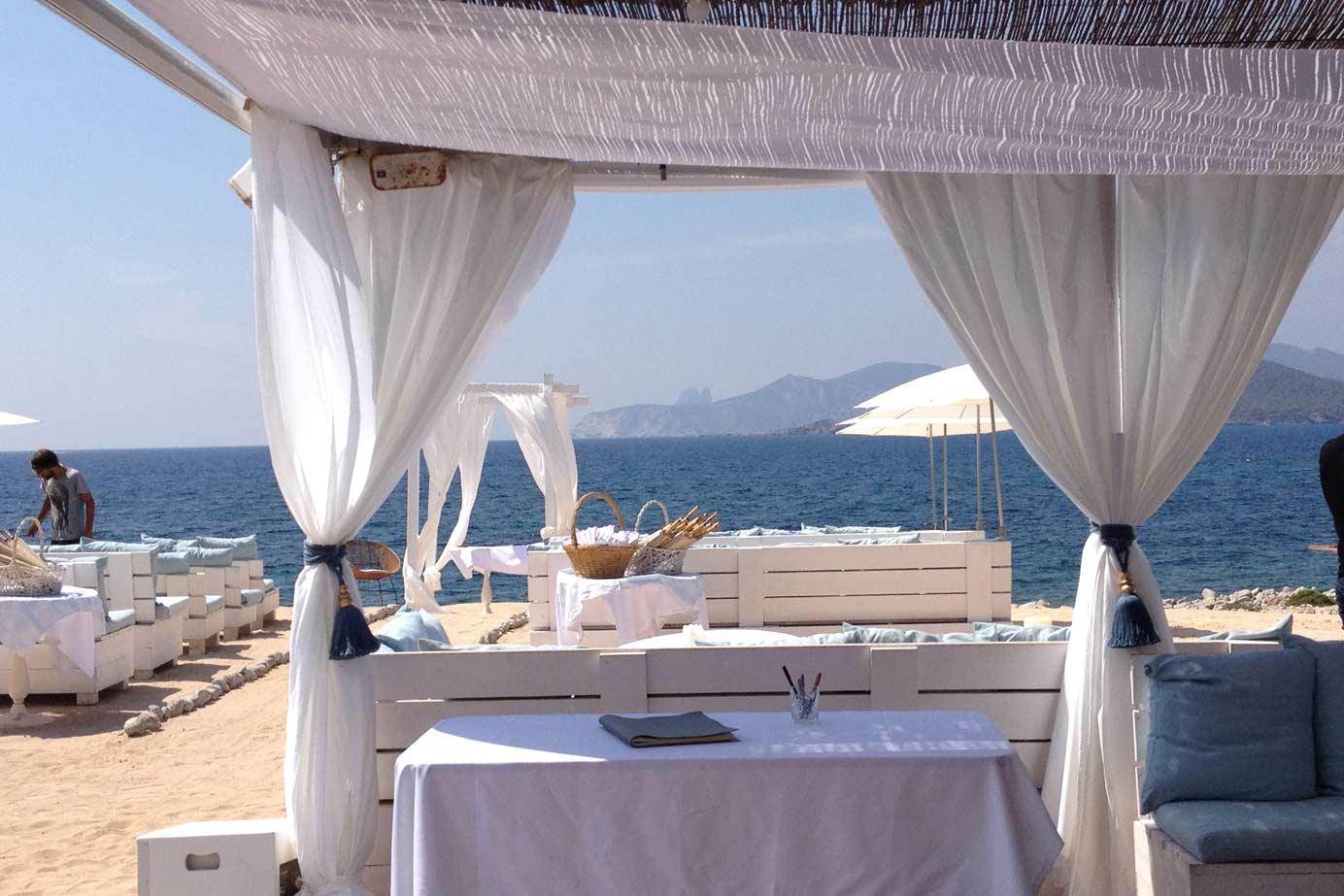 Drapes & Veils -  Beach Wedding