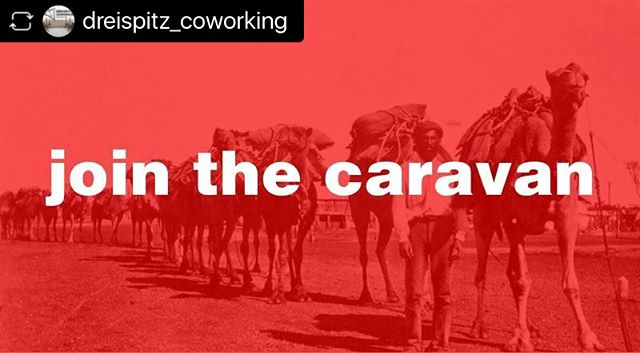   #repost @dreispitz_coworking __________________  🐫 Join the caravan and get a unique coworking experience. 🐫  Test all the listed coworking spaces in the Basel area for one day.  Tour from space to space during the entire week.  Tickets. CHF 25.— 👉 Link in Bio.