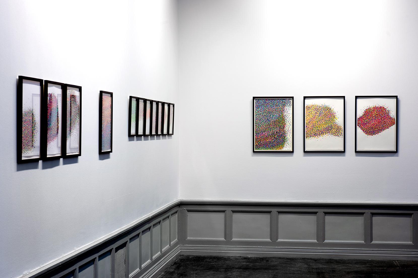 Mosaic drawings (2018)  Photo: Jan Inge Haga