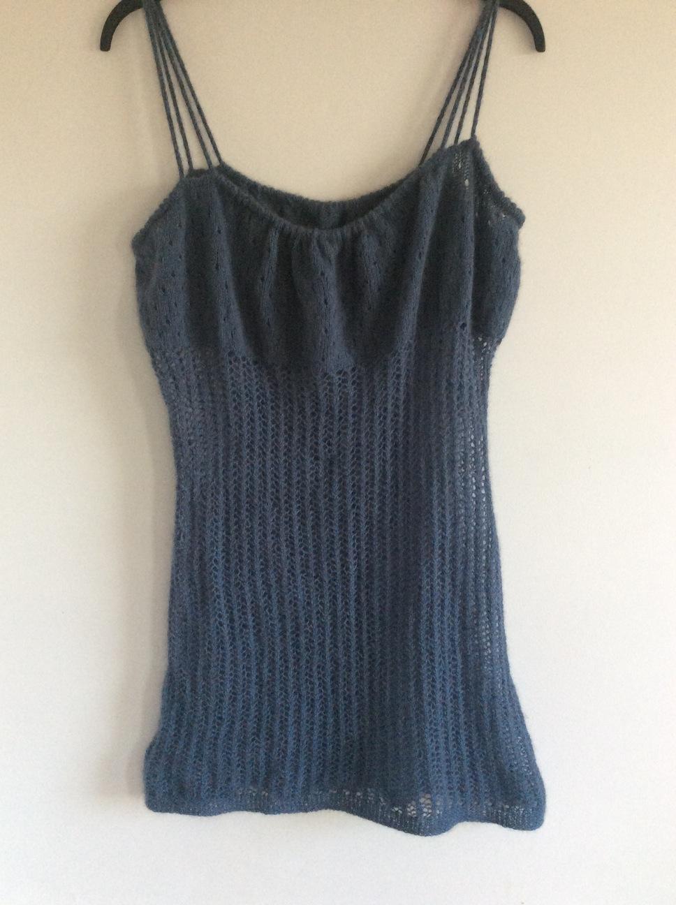 recycled possum yarn chemise
