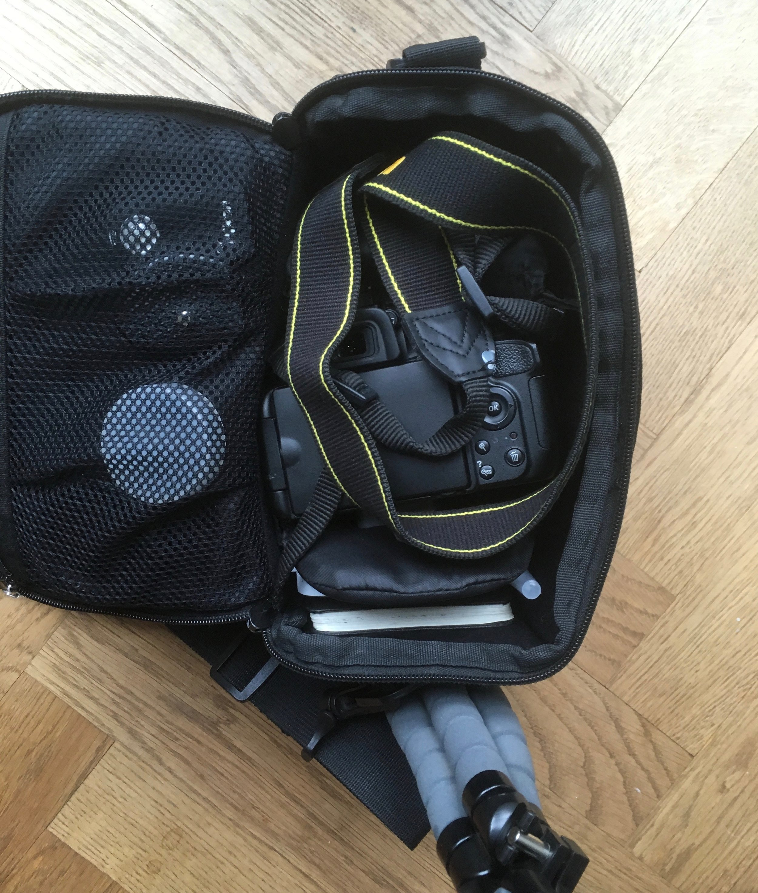 The packed bag