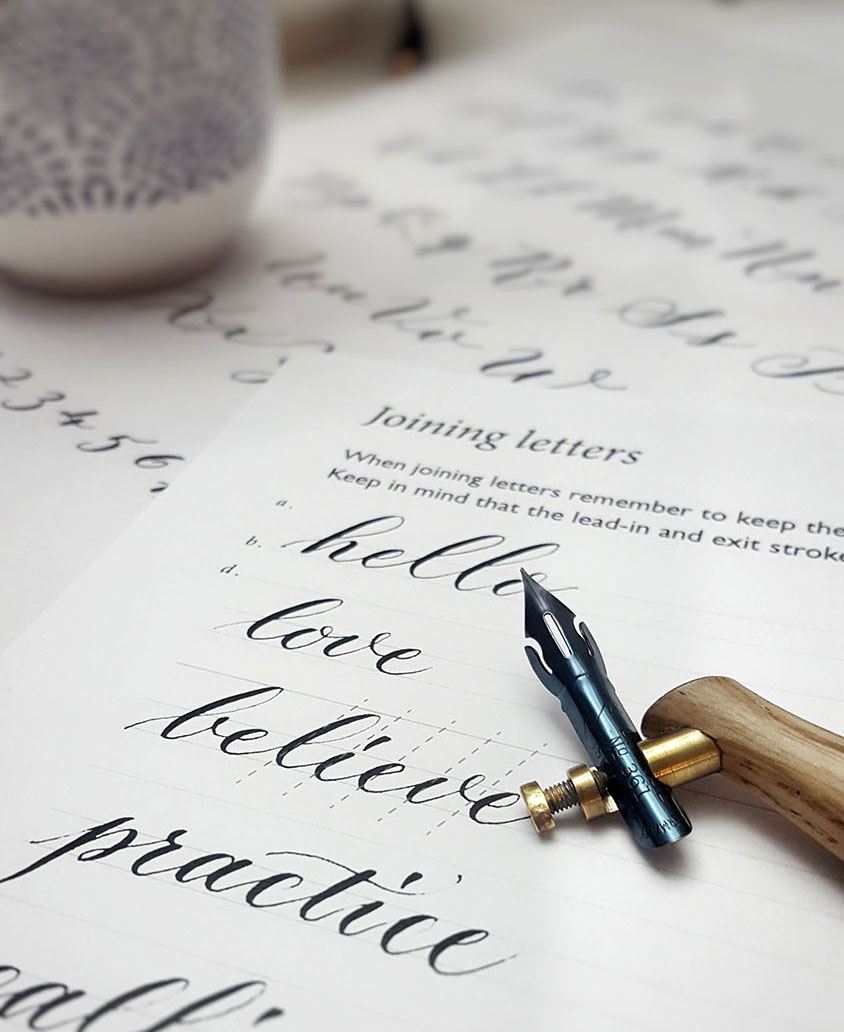 Calligraphy workshops | Calligraphy Services Surrey