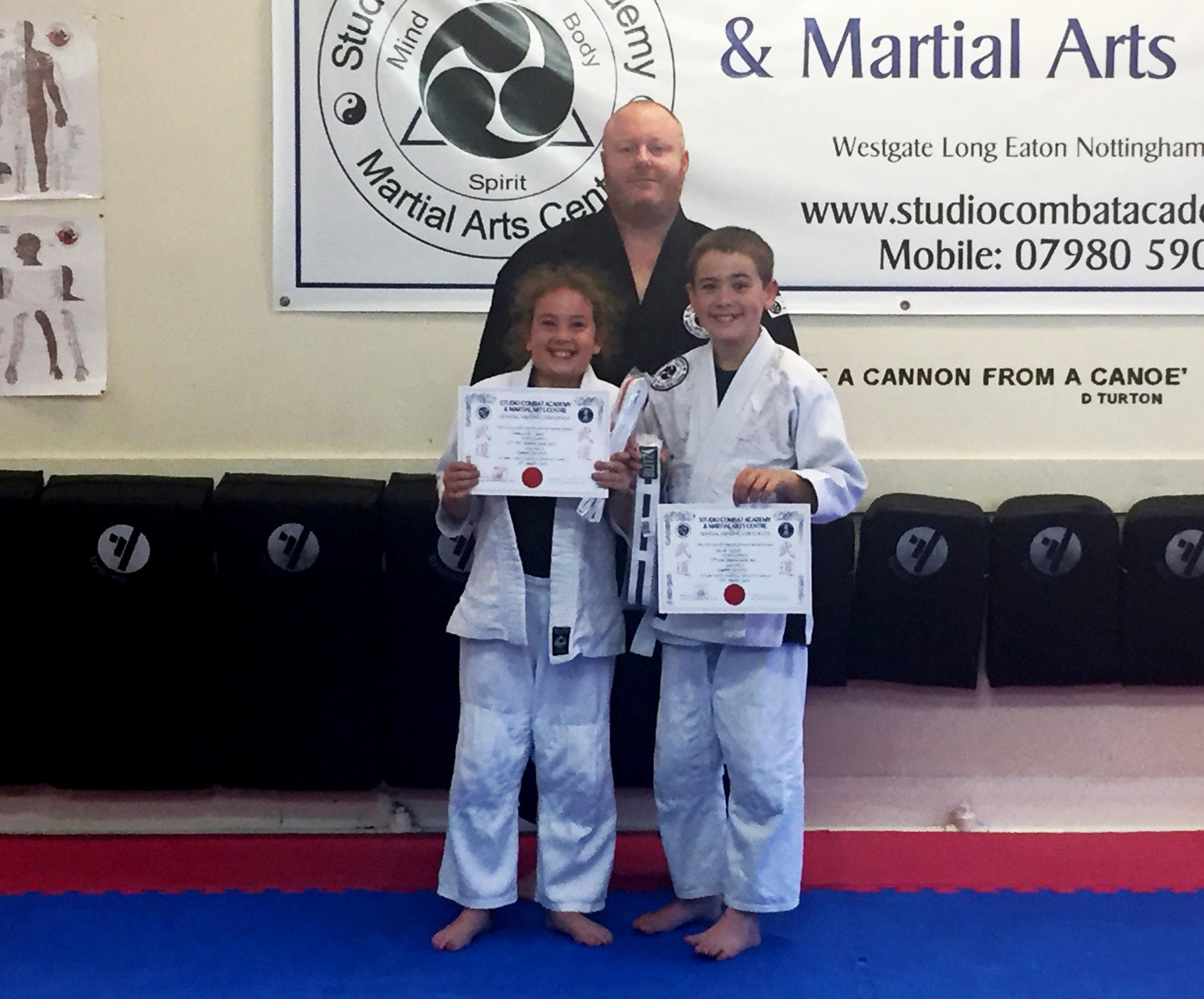 Junior Ju-Jitsu Grading