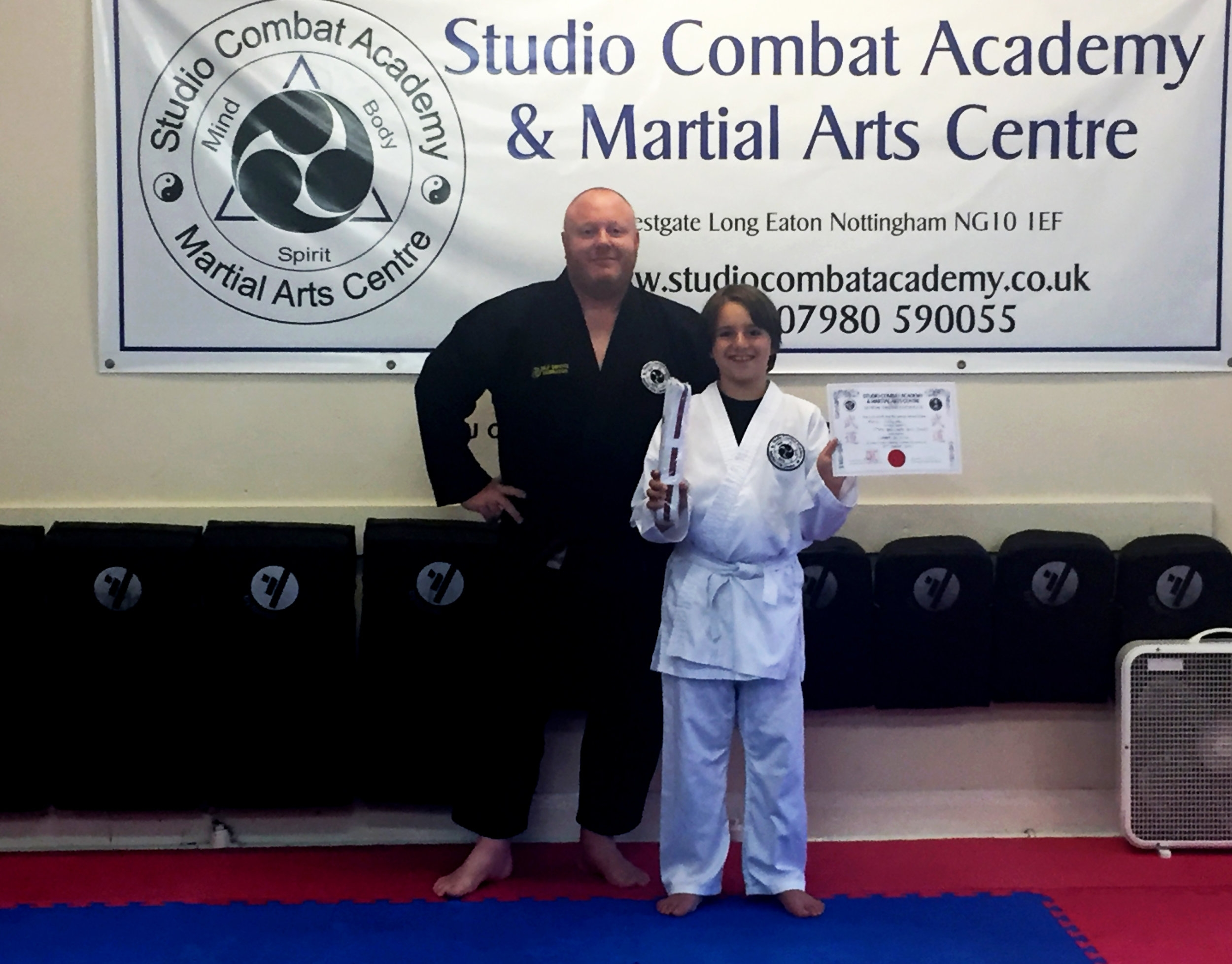 Junior Ju-Jitsu Grading August 2017