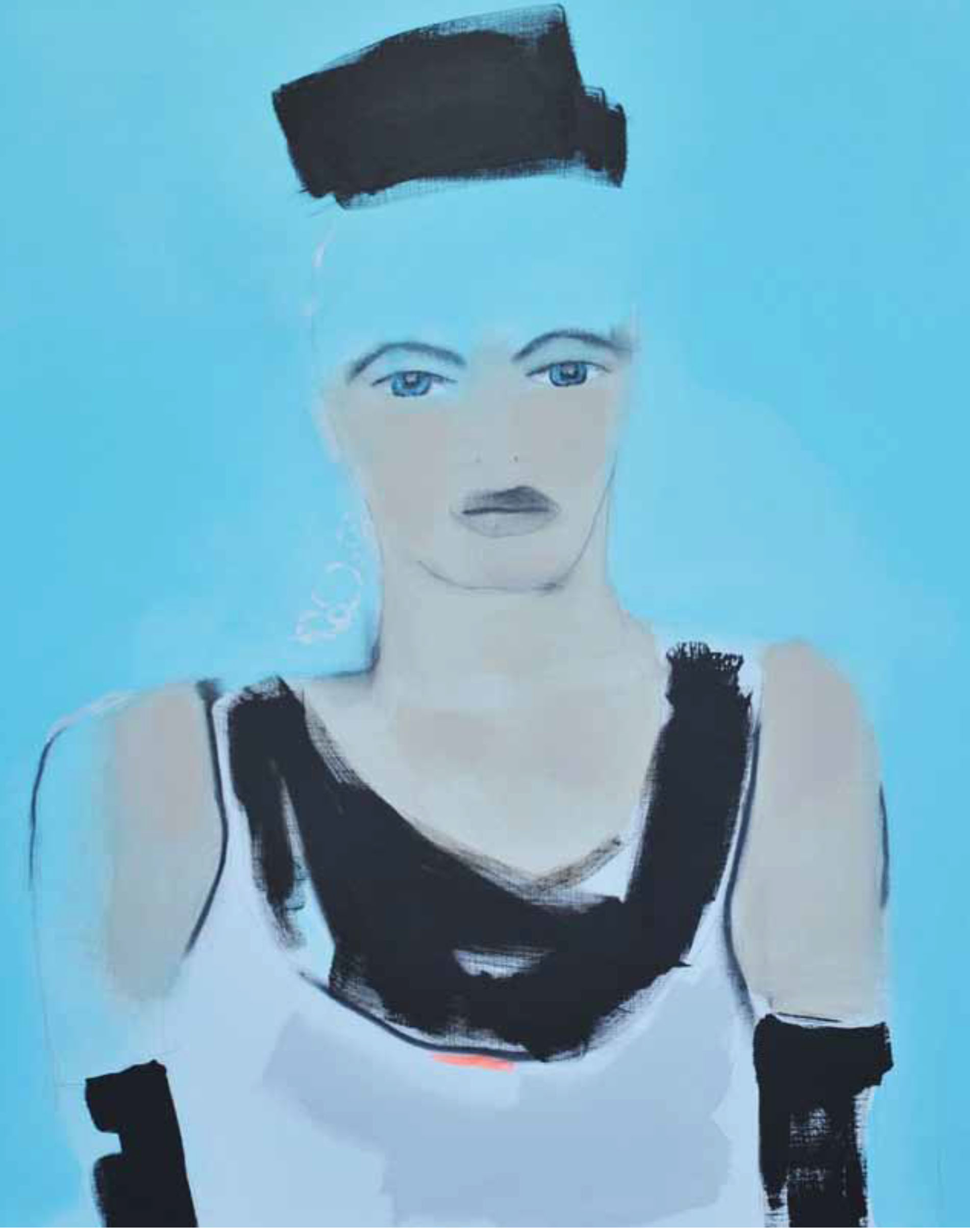 About Women And Their Elegance. Acrylic on Canvas. Size 110x110. PE: Rita Nylander, Trondheim.
