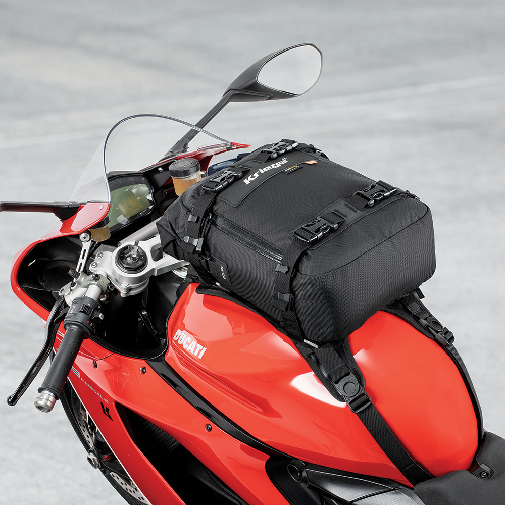 TANK BAG - Mount as a tank bag with a Kriega TANK converter
