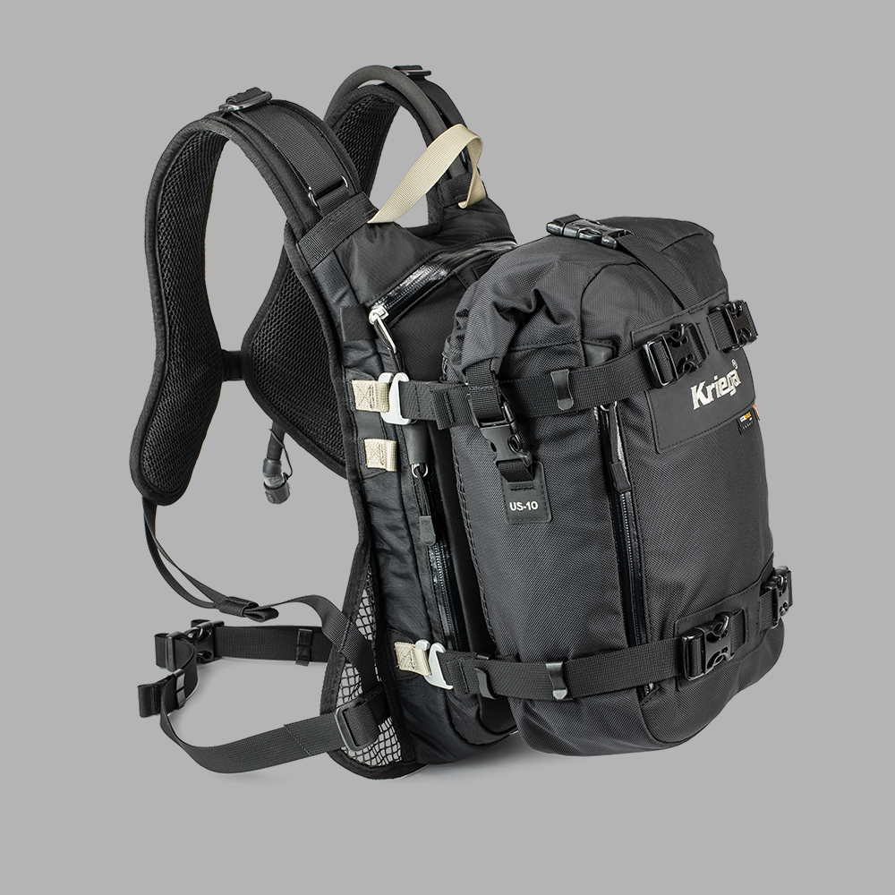 BACKPACK - Hook-on any Kriega Backpack for additional waterproof storage