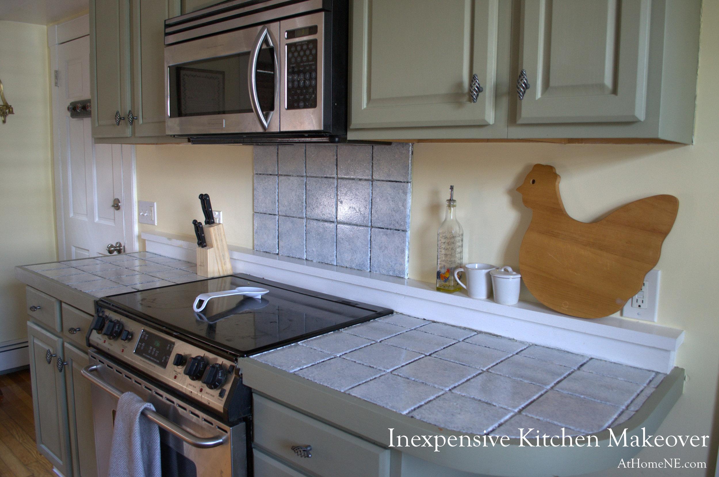 kitchen diy makeover