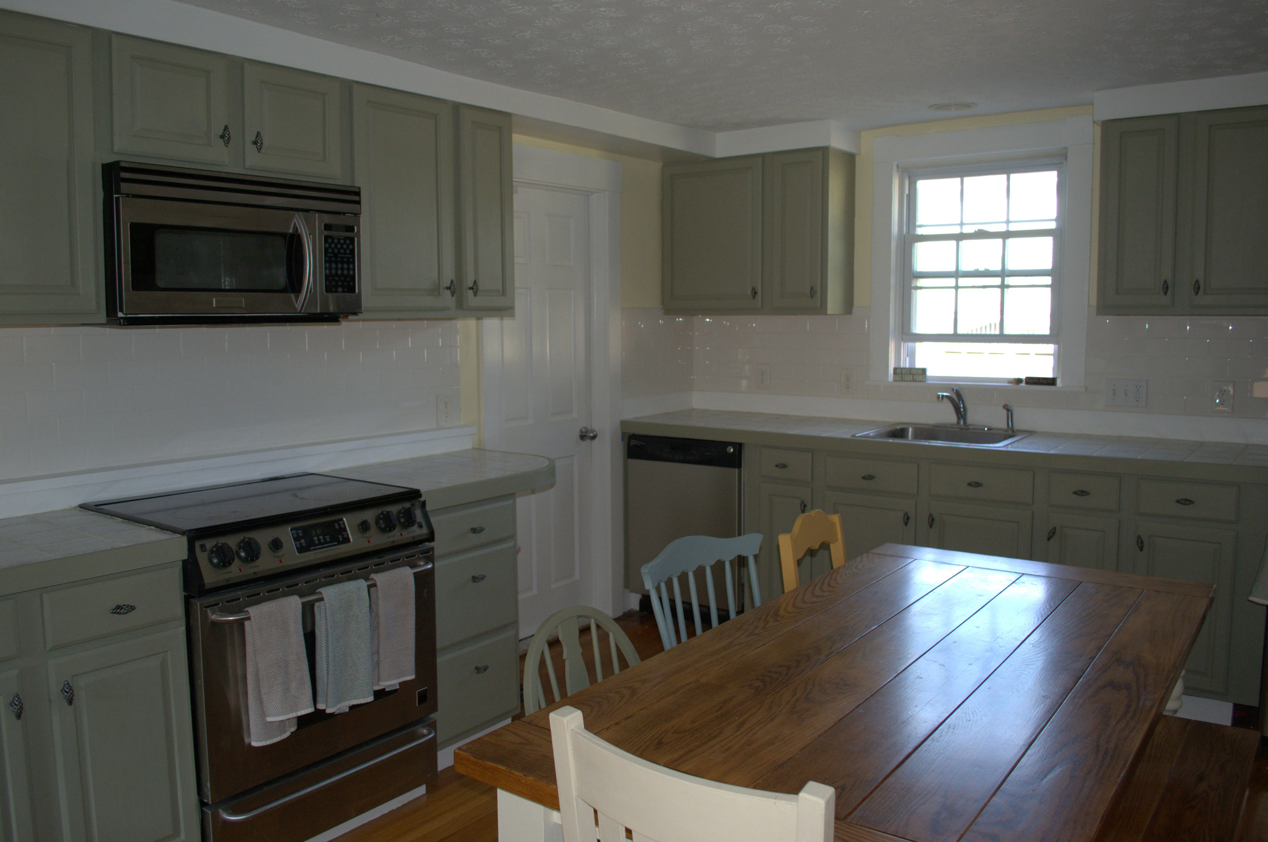 Our beautiful completed kitchen.