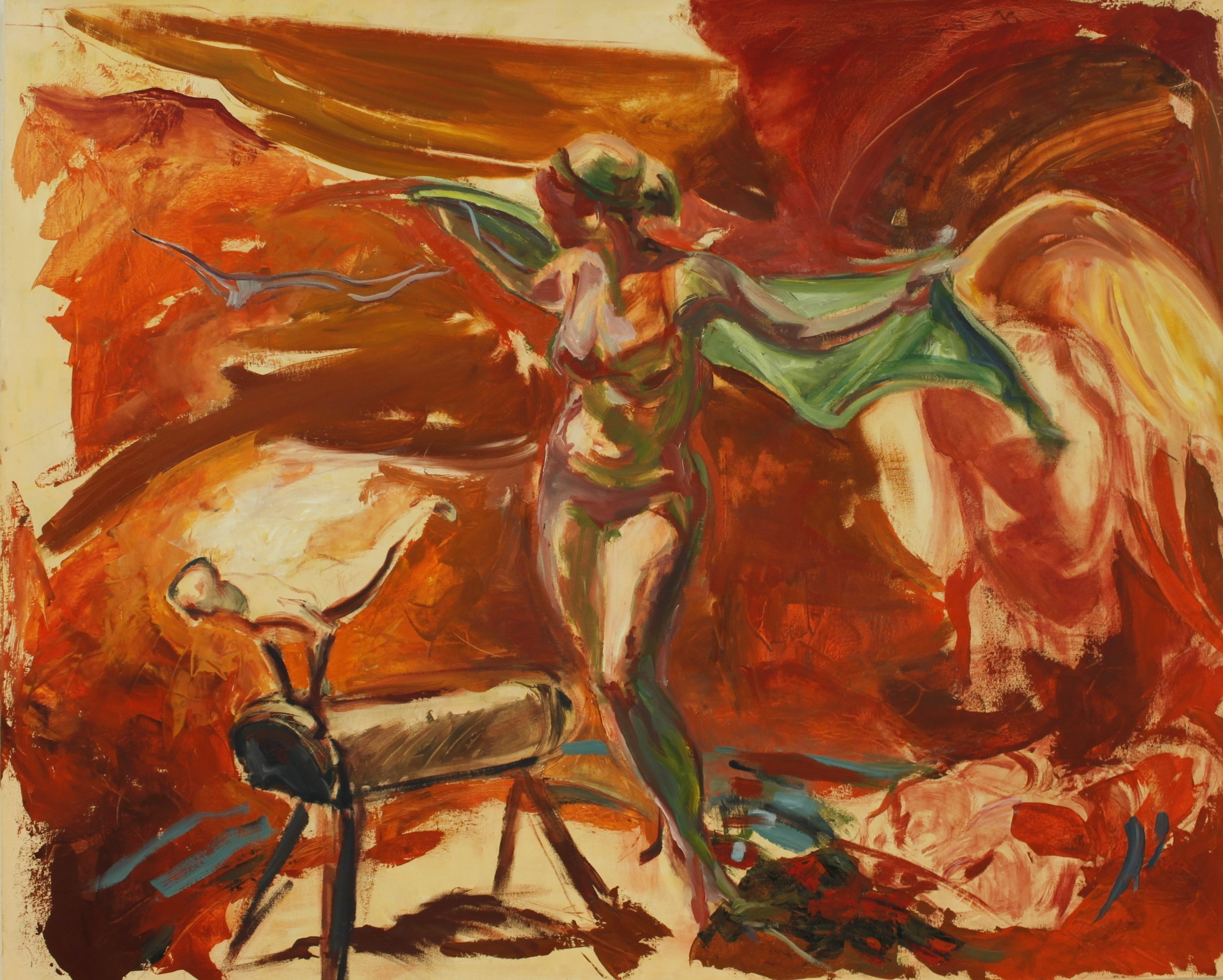 Vella Blaze 2014 oil on canvas 48%22 x 60%22.JPG