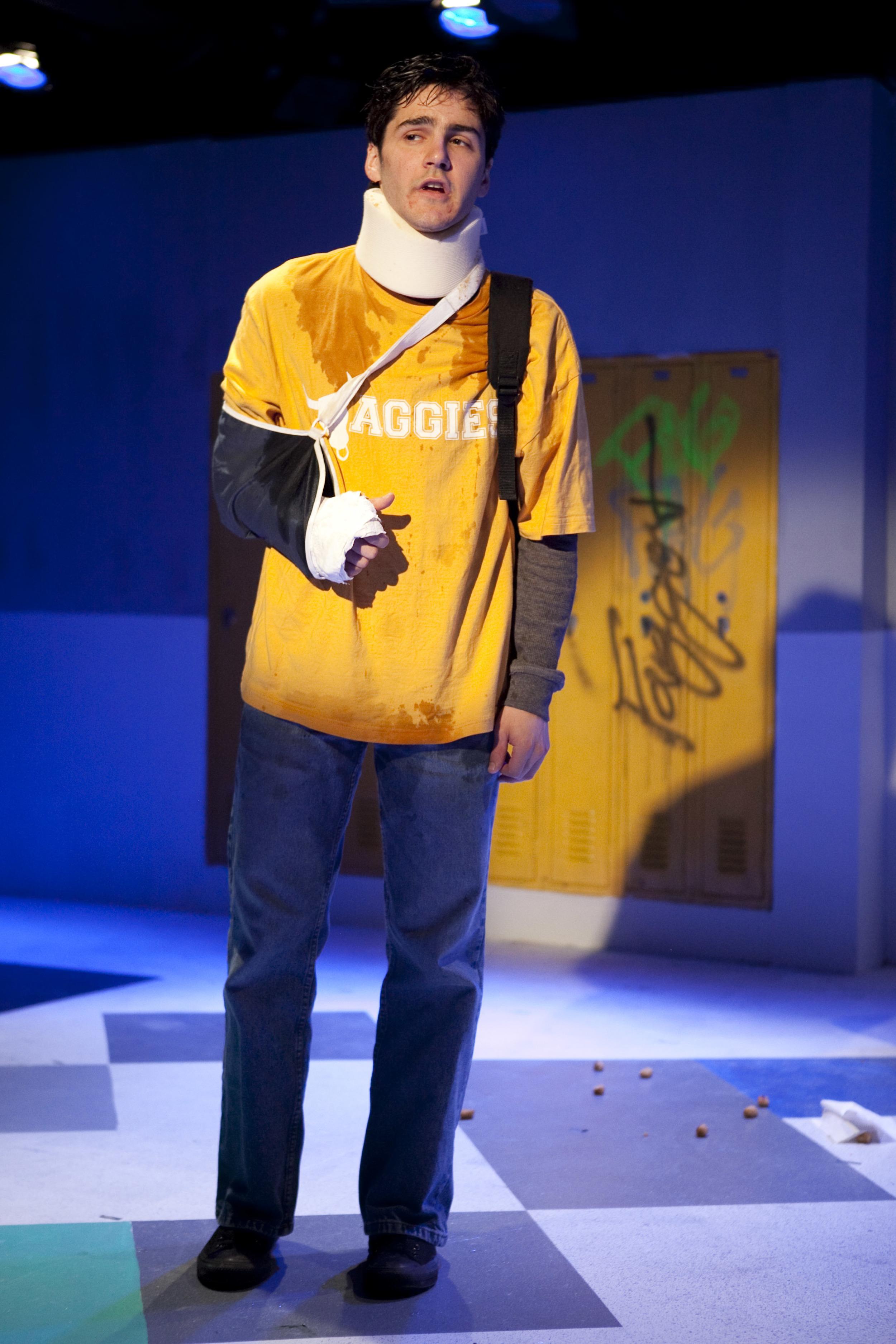 David Rosenblatt as 'The Kid'. (Photo by Chasi Annexy)
