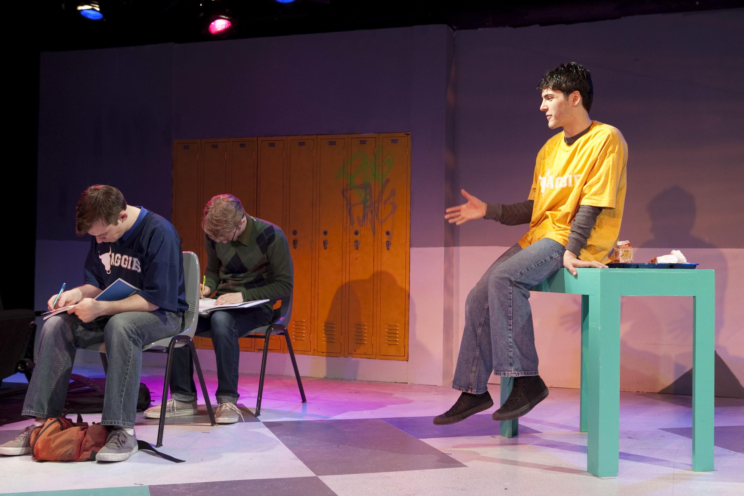 L to R: J. Alexander Coe, Jacob Mondry, David Rosenblatt. (Photo by Chasi Annexy)