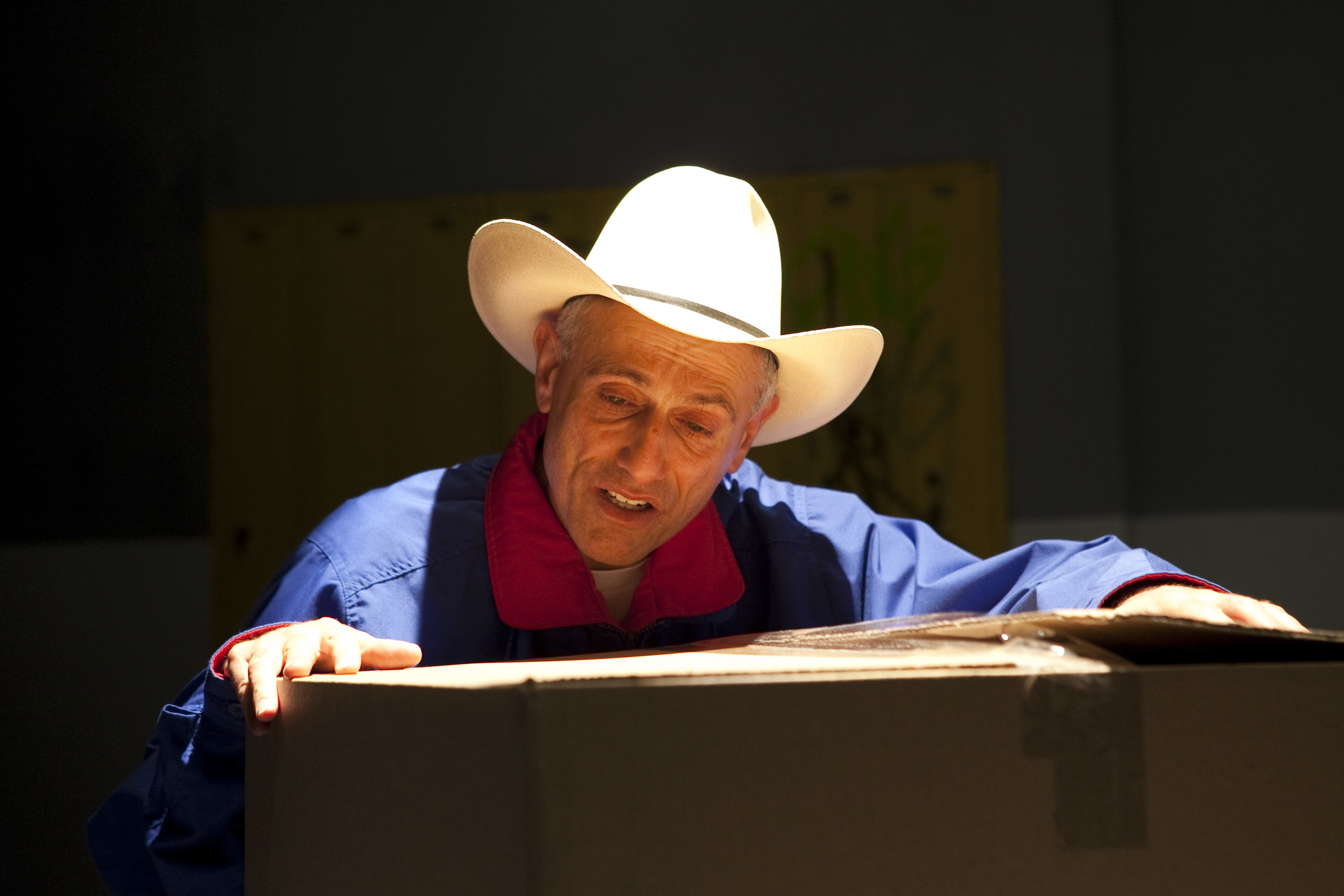 David Greenspan as 'Fred Phelps'. (Photo by Chasi Annexy)