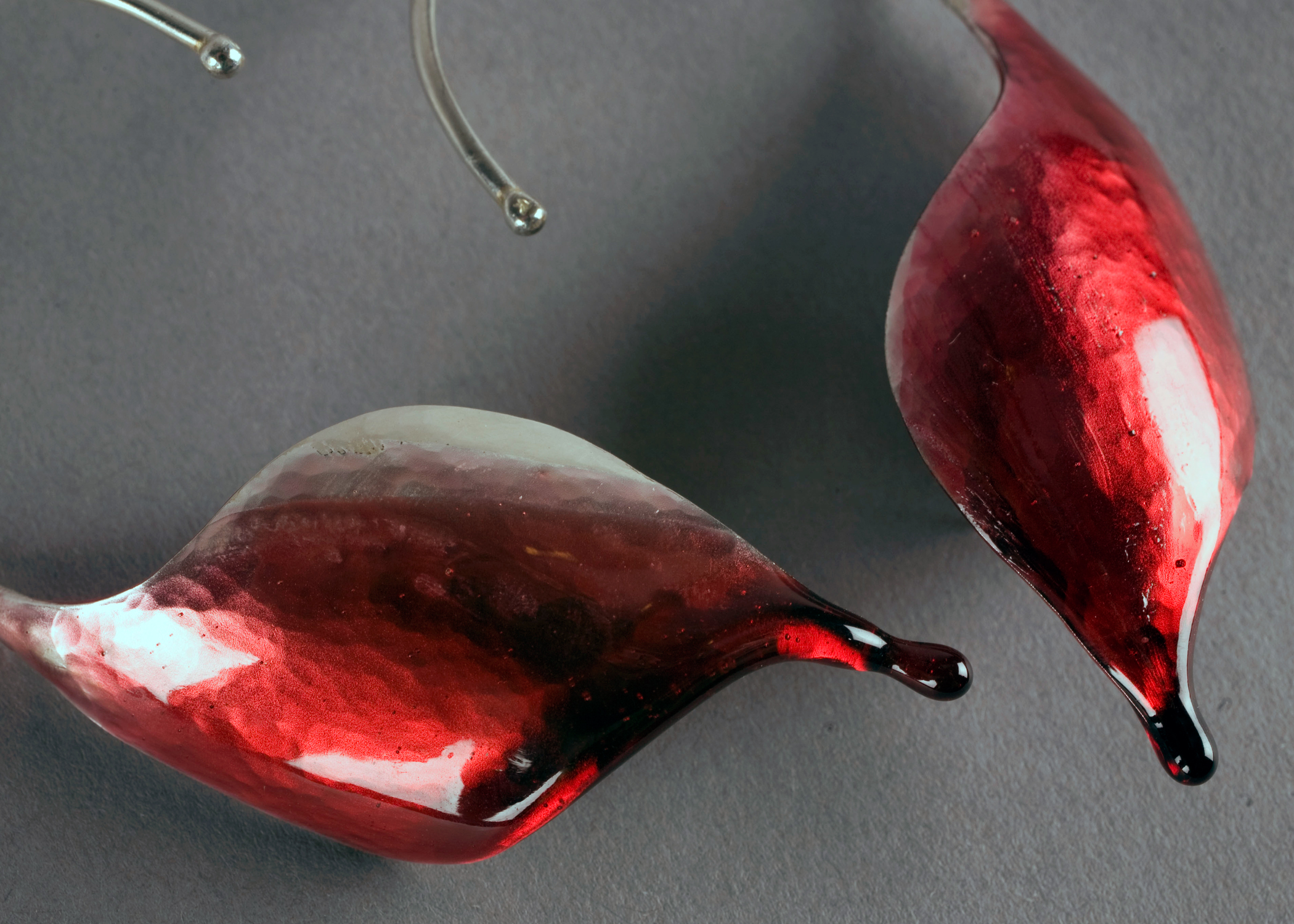 Drip Earrings detail