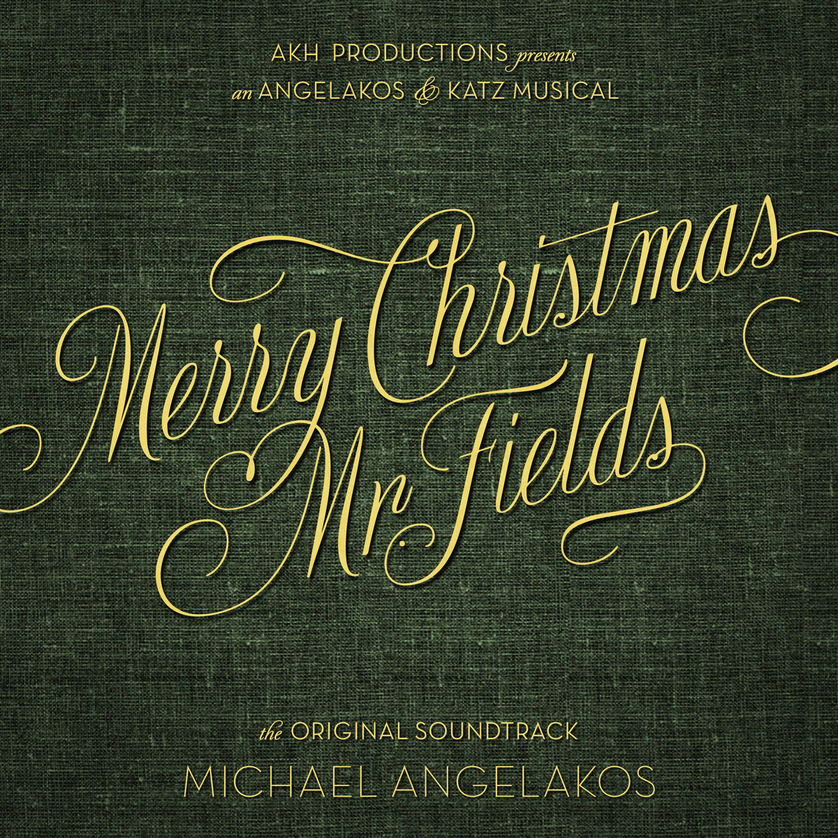 MICHAEL ANGELAKOS   MERRY CHRISTMAS, MR. FIELDS    Listen HERE