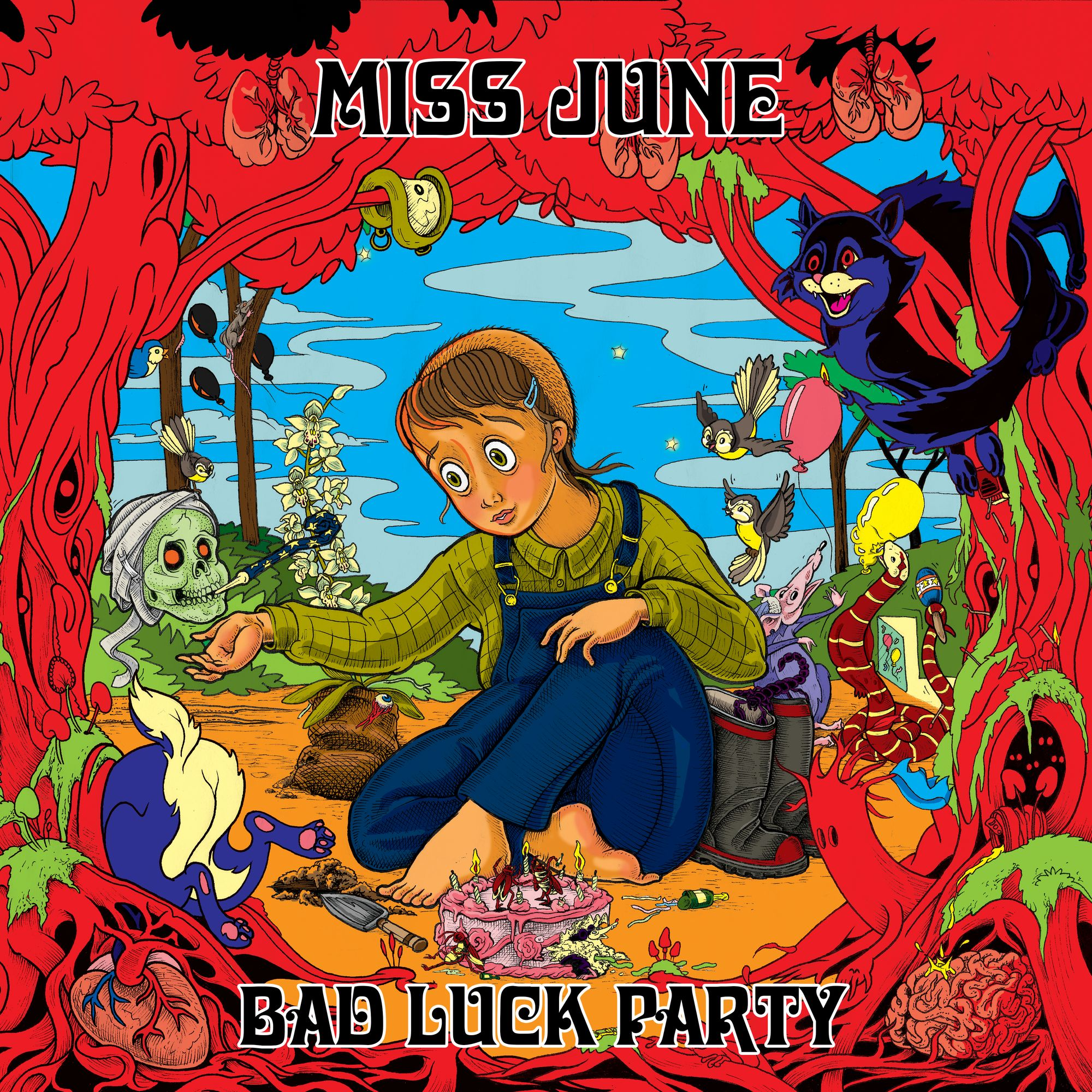 MISS JUNE   BAD LUCK PARTY    Listen HERE