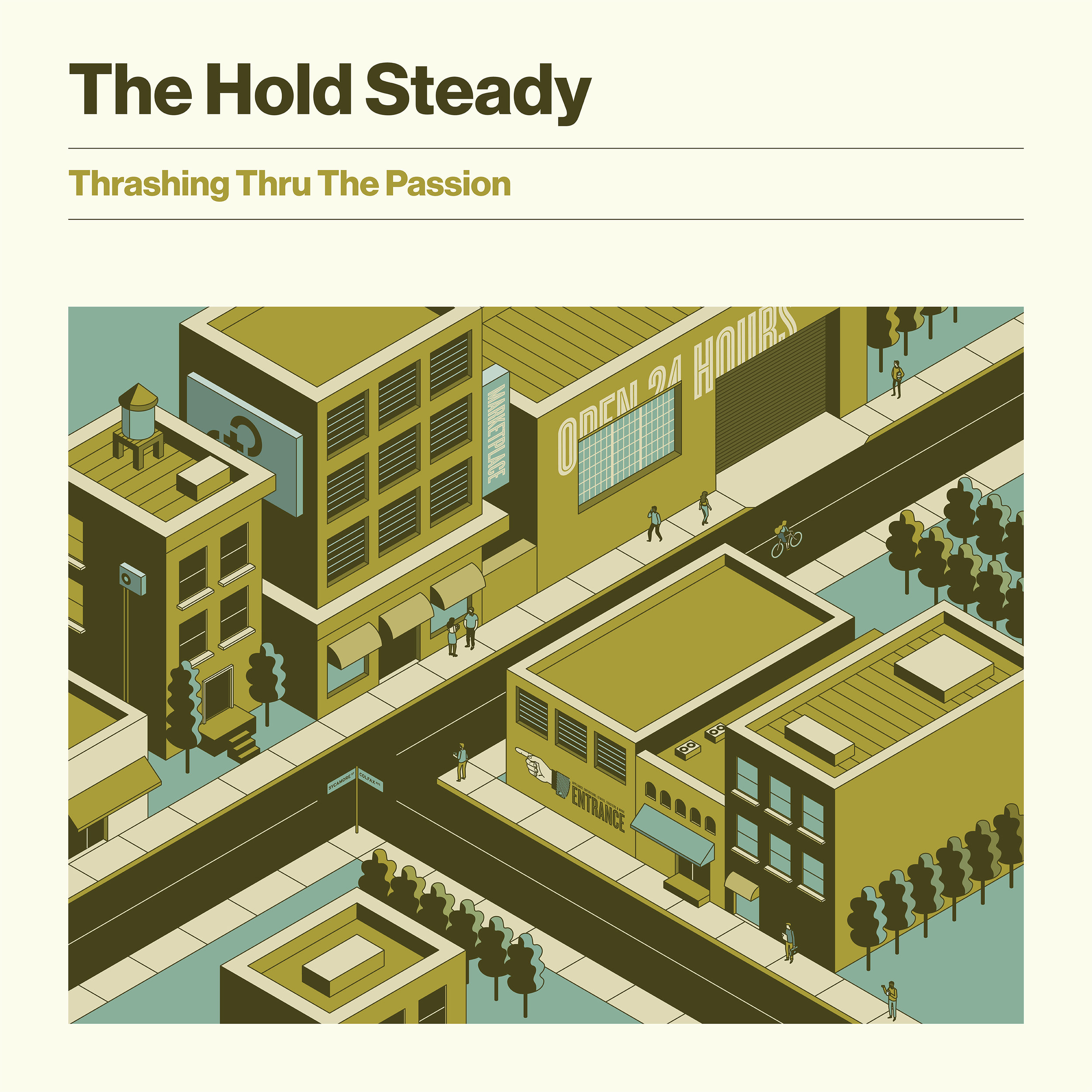 THE HOLD STEADY   THRASHING THRU THE PASSION    Listen HERE
