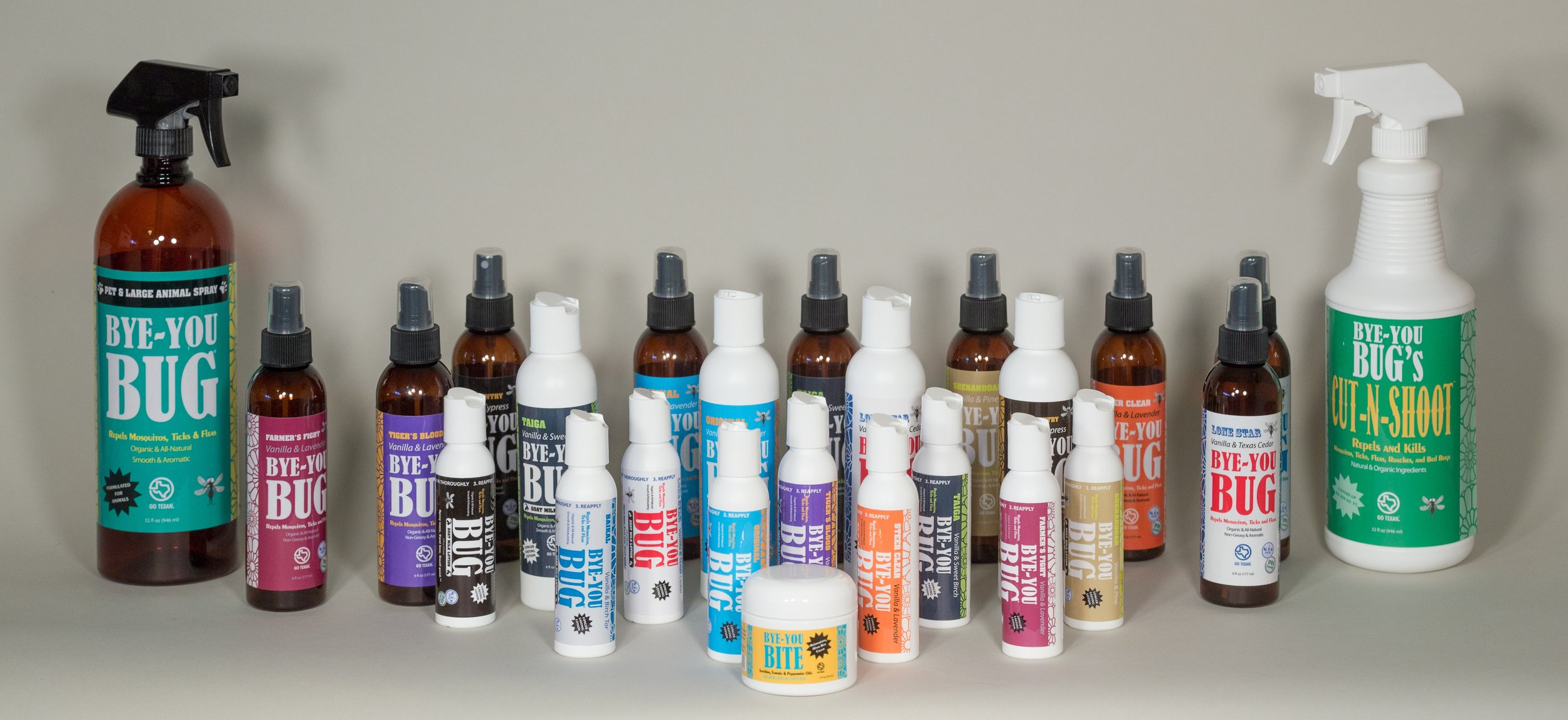 Spray More, Swat Less, Smell Good ™   with  Vanilla    Learn More