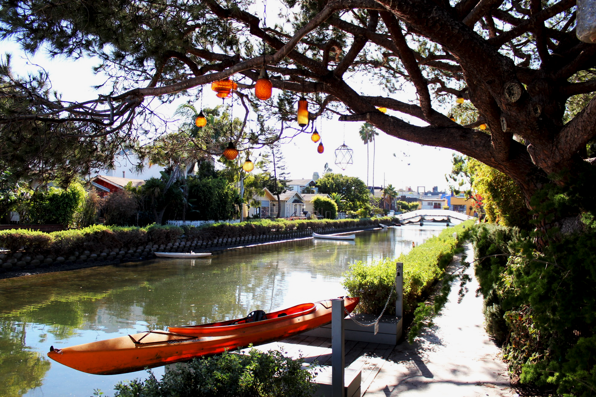 Have you ever been to the venice canals? I have heard that some people will even give you rides on their canoe or kayak or whatever that is. Sadly I wasn't offered one.