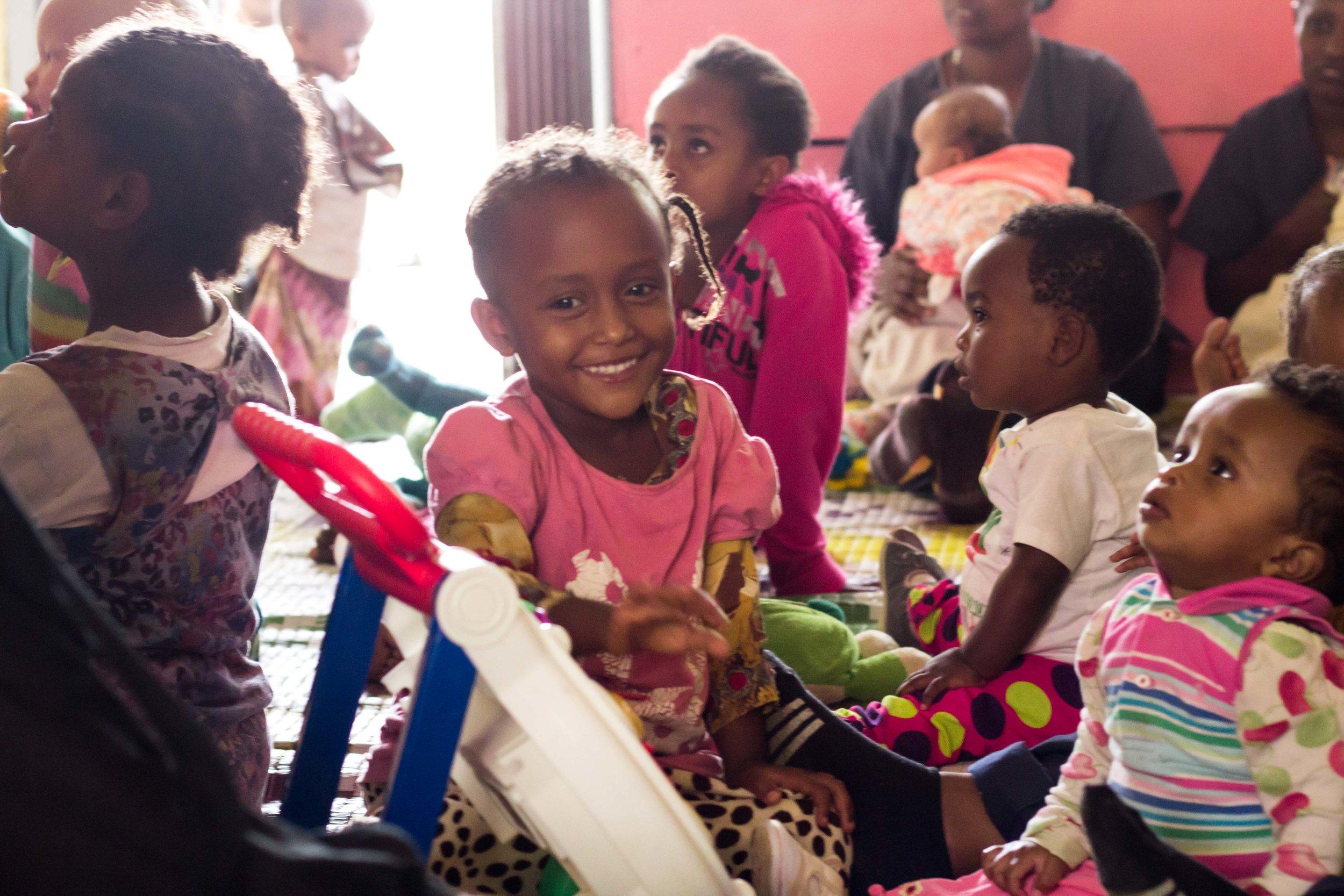 Ethiopian smiles I tell you.
