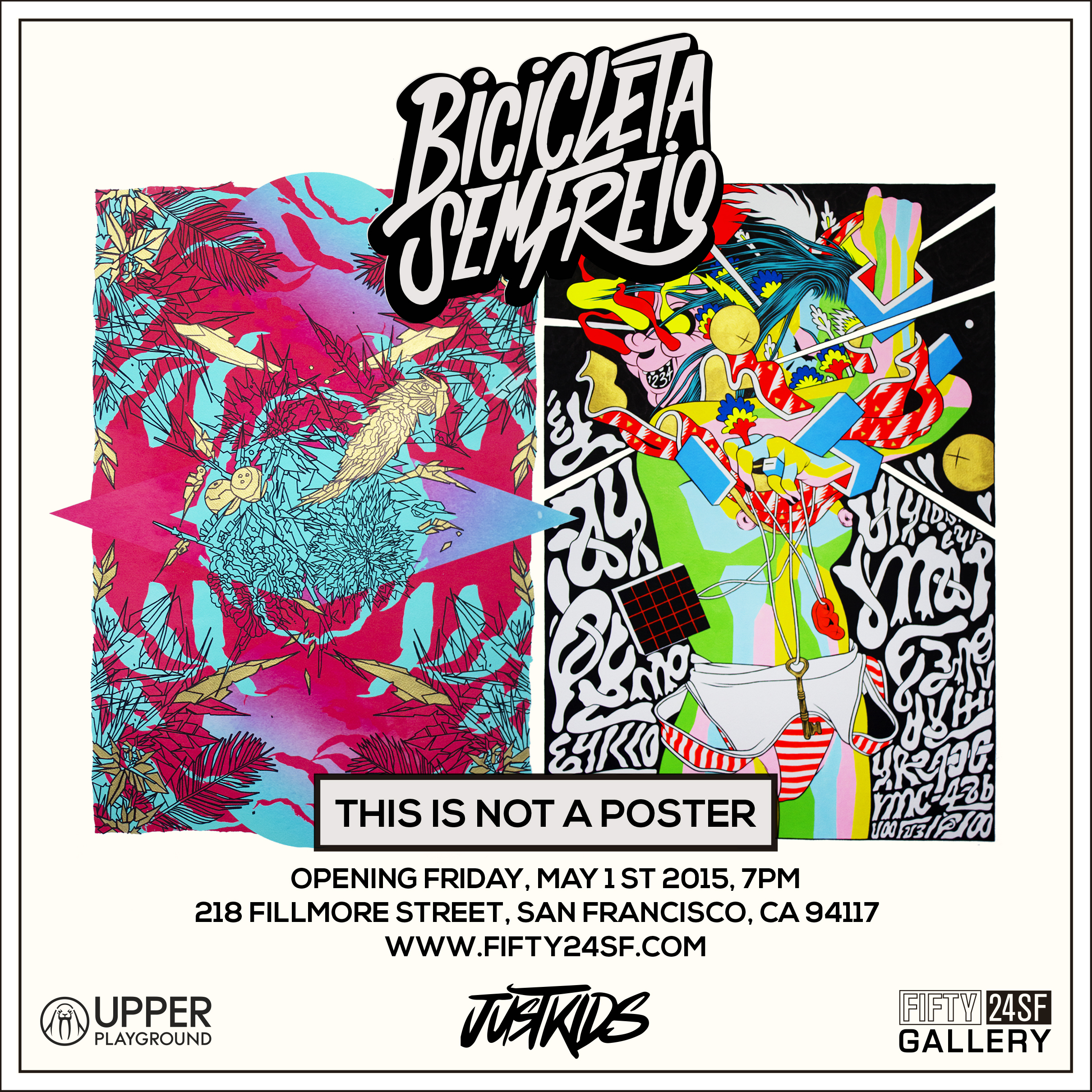 BICICLETA SEM FREIO - THIS IS NOT A POSTER